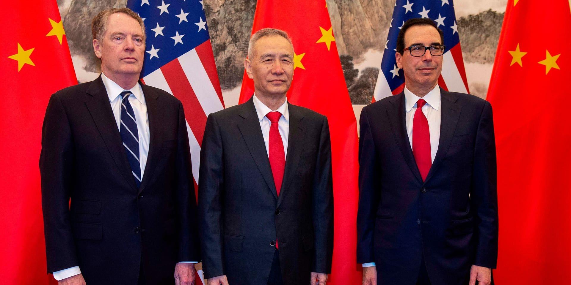 Dernière phase cruciale pour les négociations commerciales entre Washington et Pékin