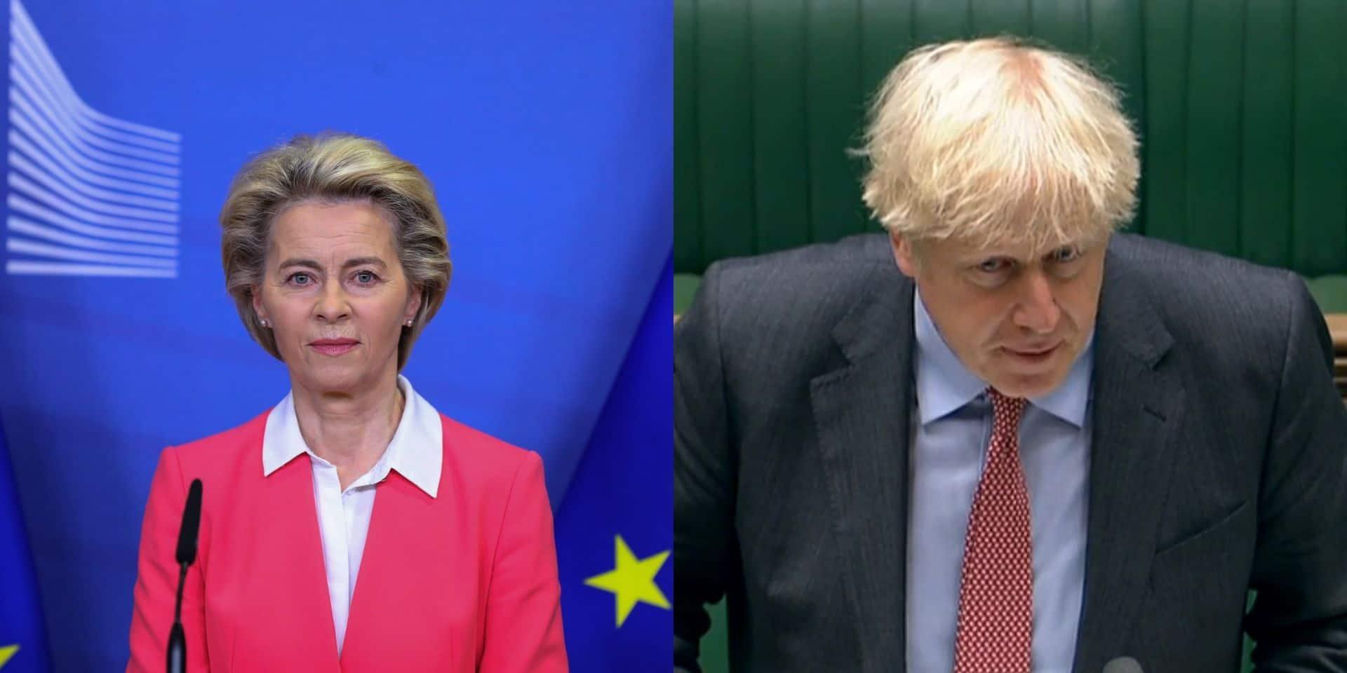 """Brexit: Londres et Bruxelles conviennent de travailler """"intensément"""" à un accord"""