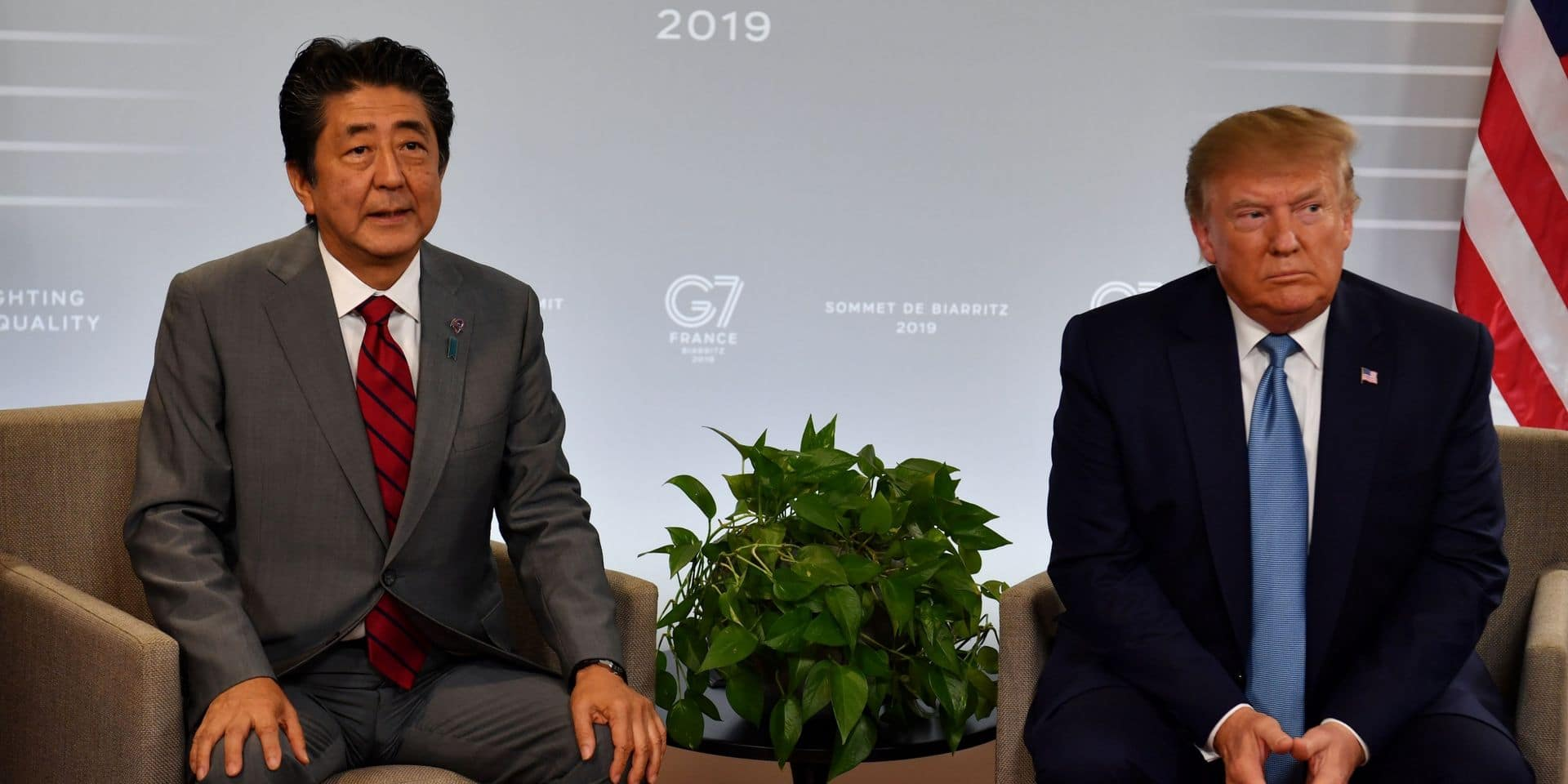 Un accord commercial conclu entre les États-Unis et le Japon