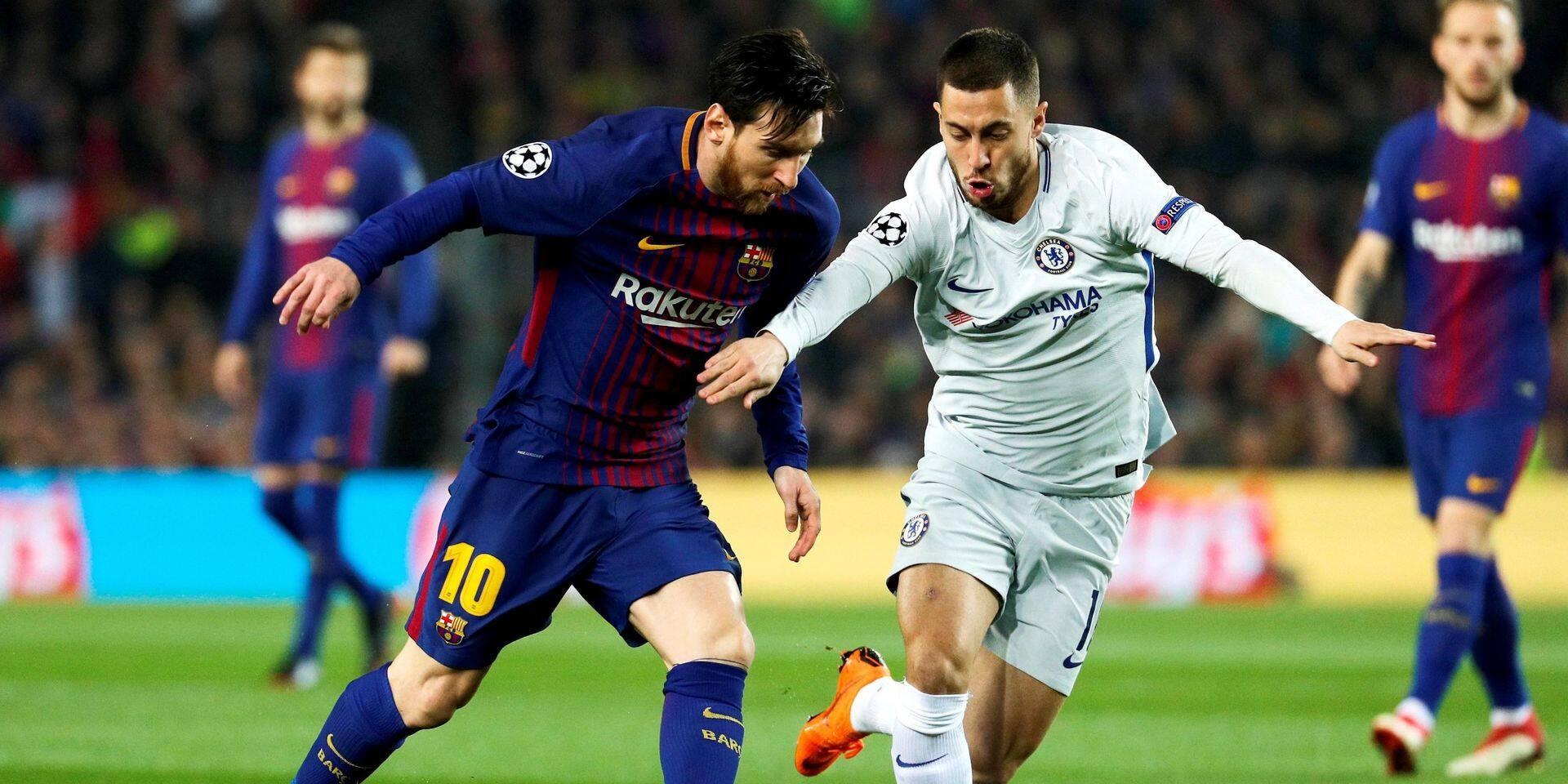 """Eden Hazard adoubé par Lionel Messi: """"C'est dur de remplacer Ronaldo, mais Hazard est lui aussi un grand joueur"""""""