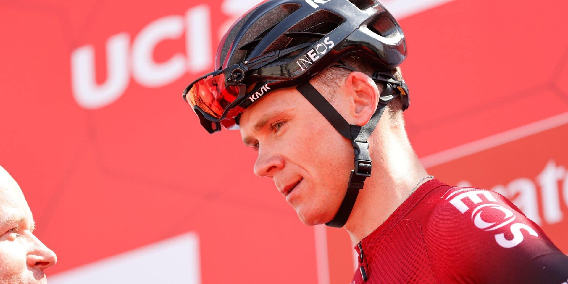 """Chris Froome estime que le cyclisme paie toujours les effets de """"l'ère Armstrong"""" en matière de dopage"""