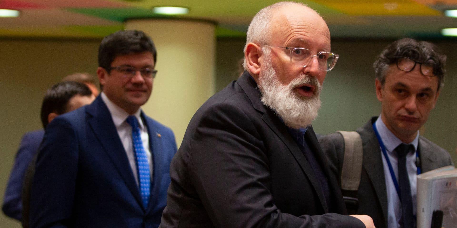 """Le vice-président de la Commission européenne en quarantaine malgré qu'il se sente """"très bien"""""""