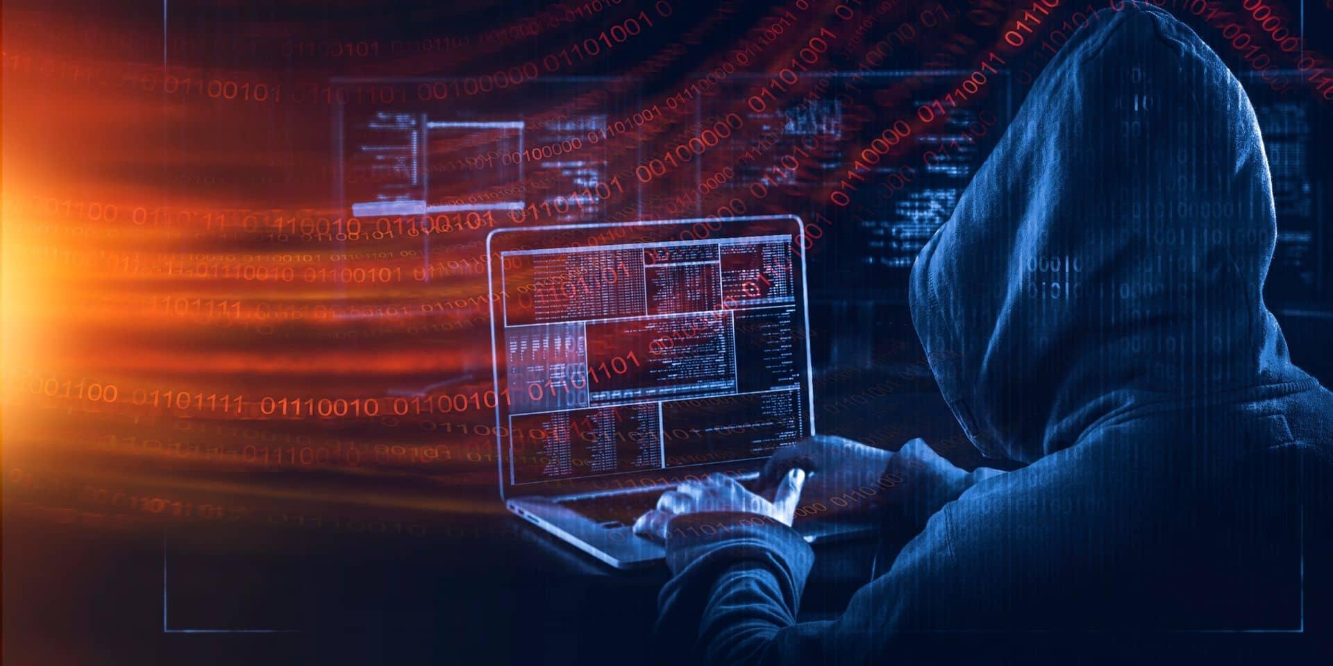 Pas moins de 1.170 entreprises belges sous la menace d'un piratage