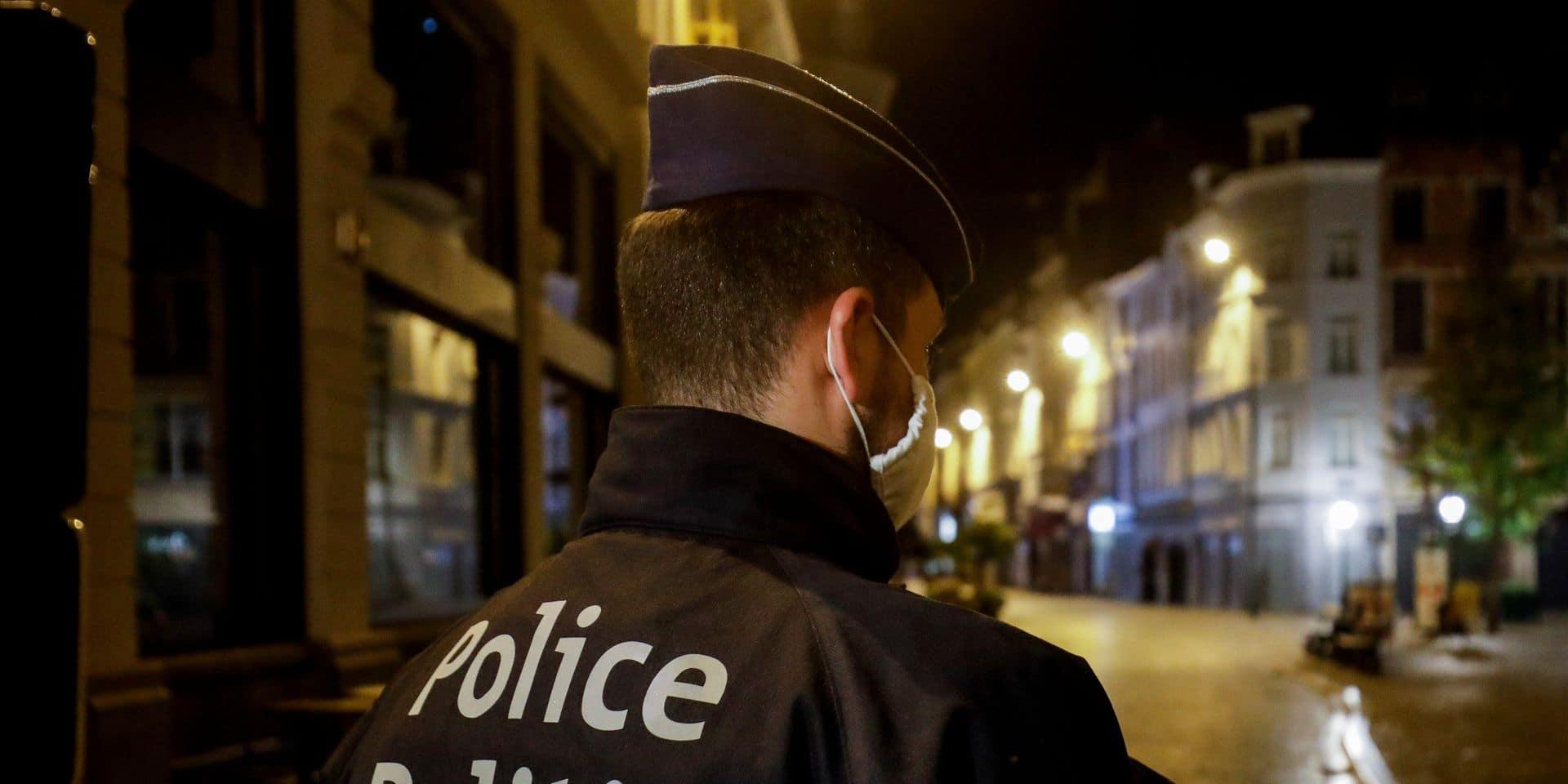 Une nuit du réveillon de Noël plutôt calme pour la police de Bruxelles