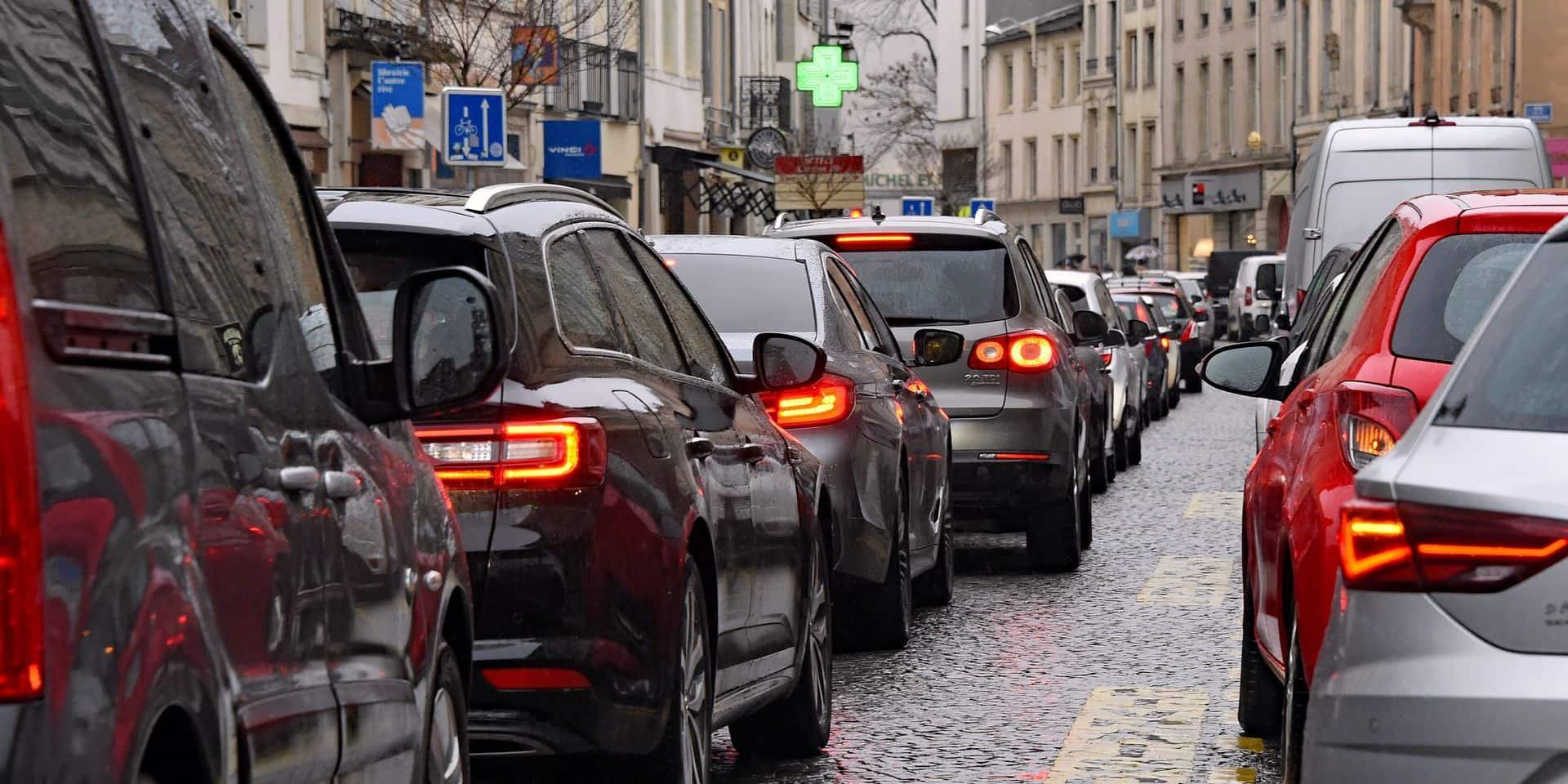 Les Belges consacrent moins d'argent au transport que les autres Européens
