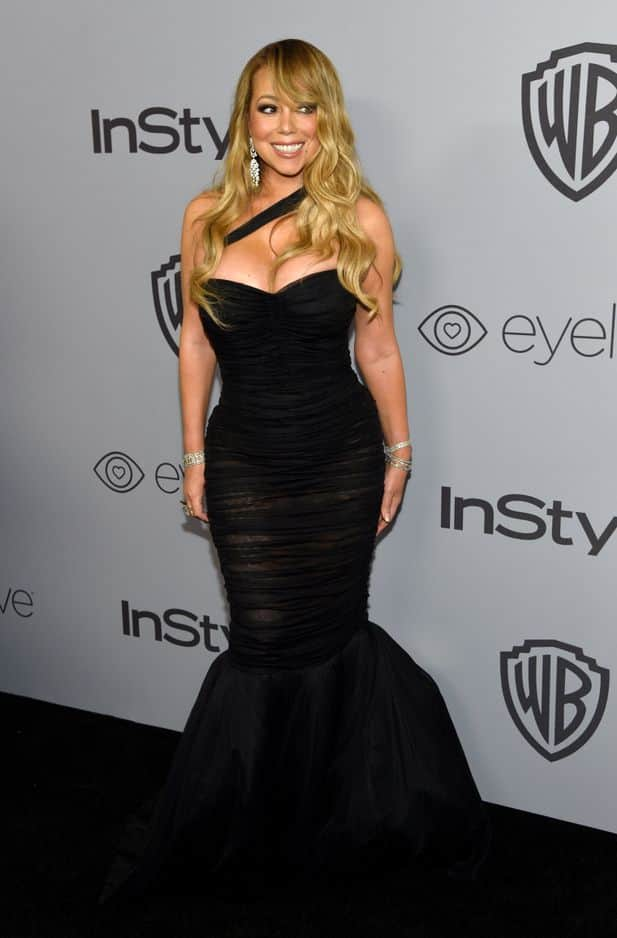 Mariah Carey, à l'after-party In Styles