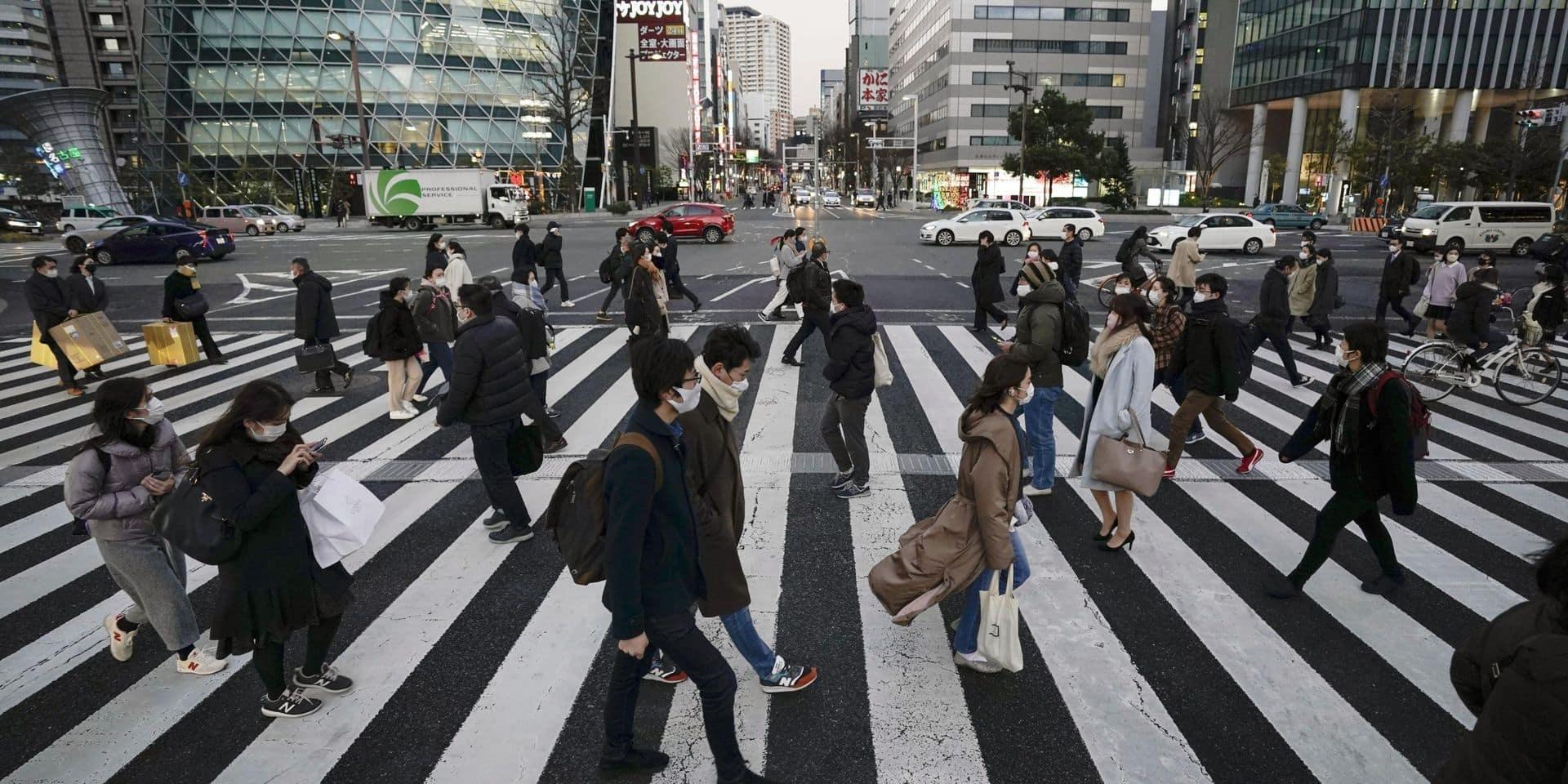Le PIB du Japon a plongé de 4,8 % en 2020