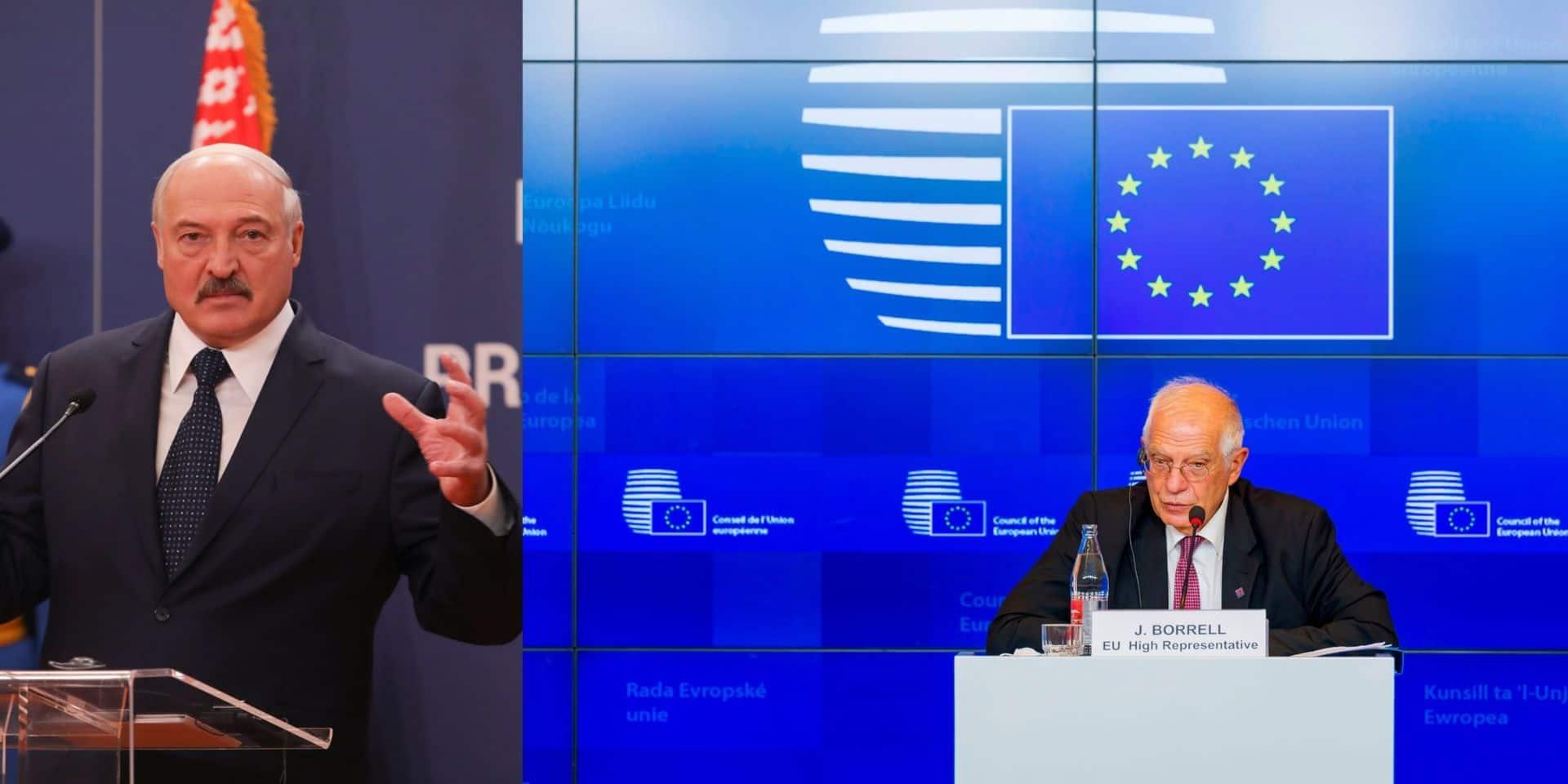 Biélorussie, affaire Navalny... l'UE multiplie les sanctions