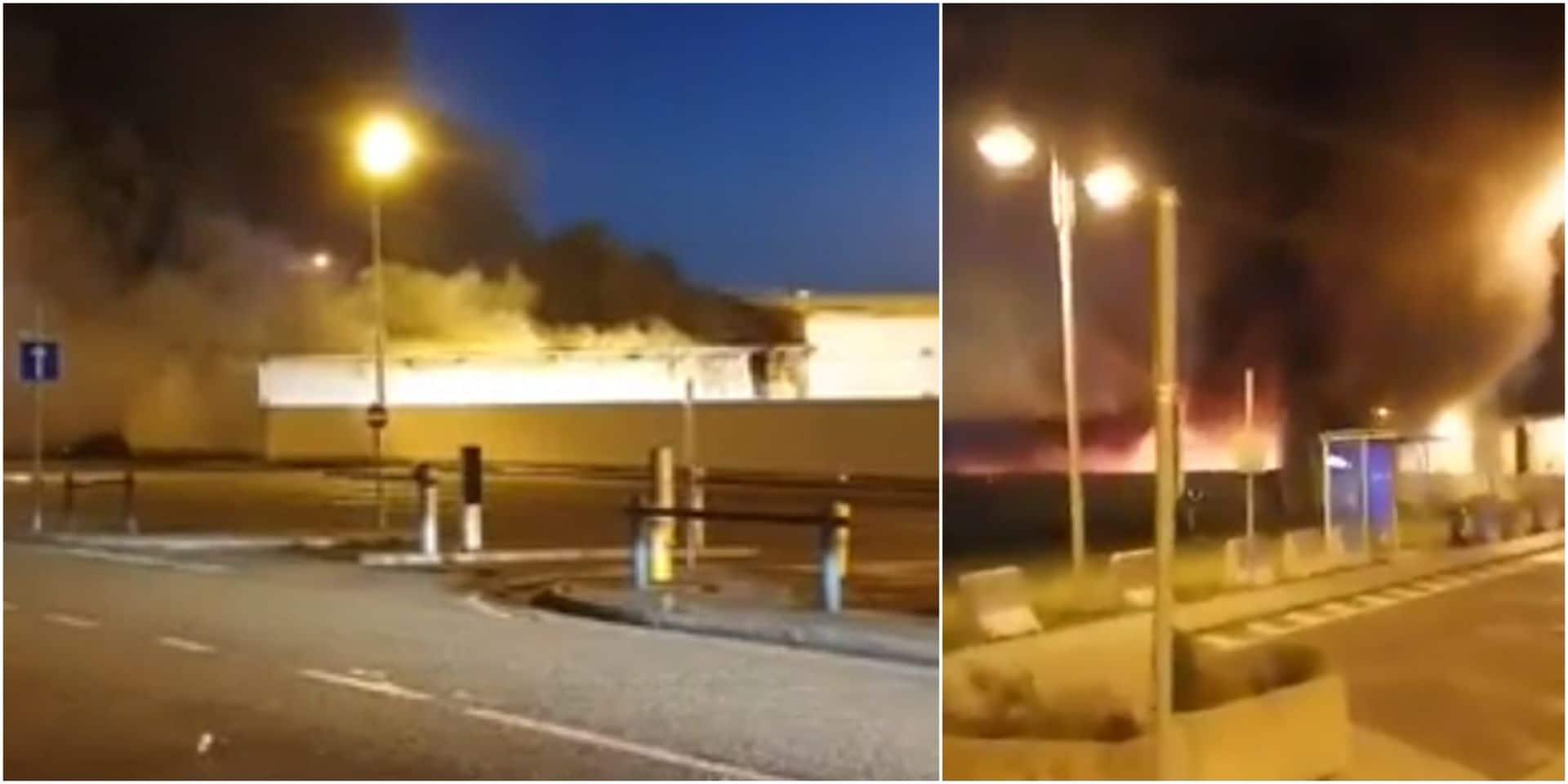 Incendie à l'aéroport de Liège: les vols ont repris, le bâtiment touché va être détruit en raison de dégâts importants (VIDEOS)