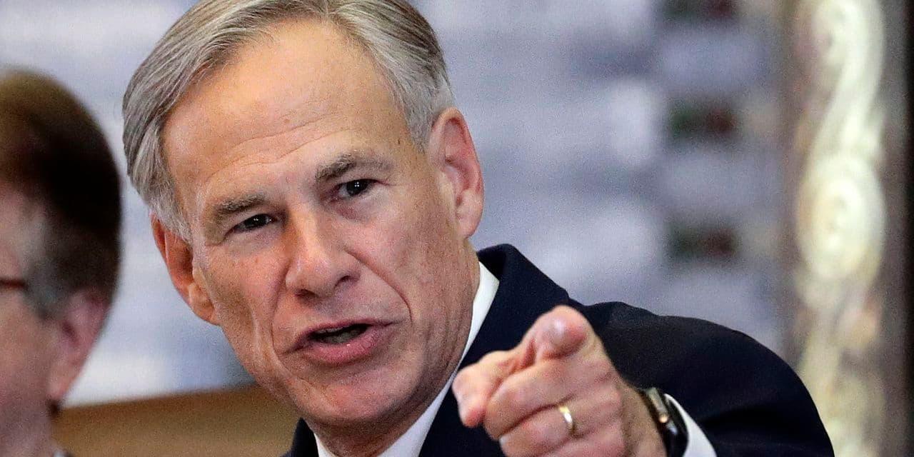 Le gouverneur du Texas Greg Abbott.