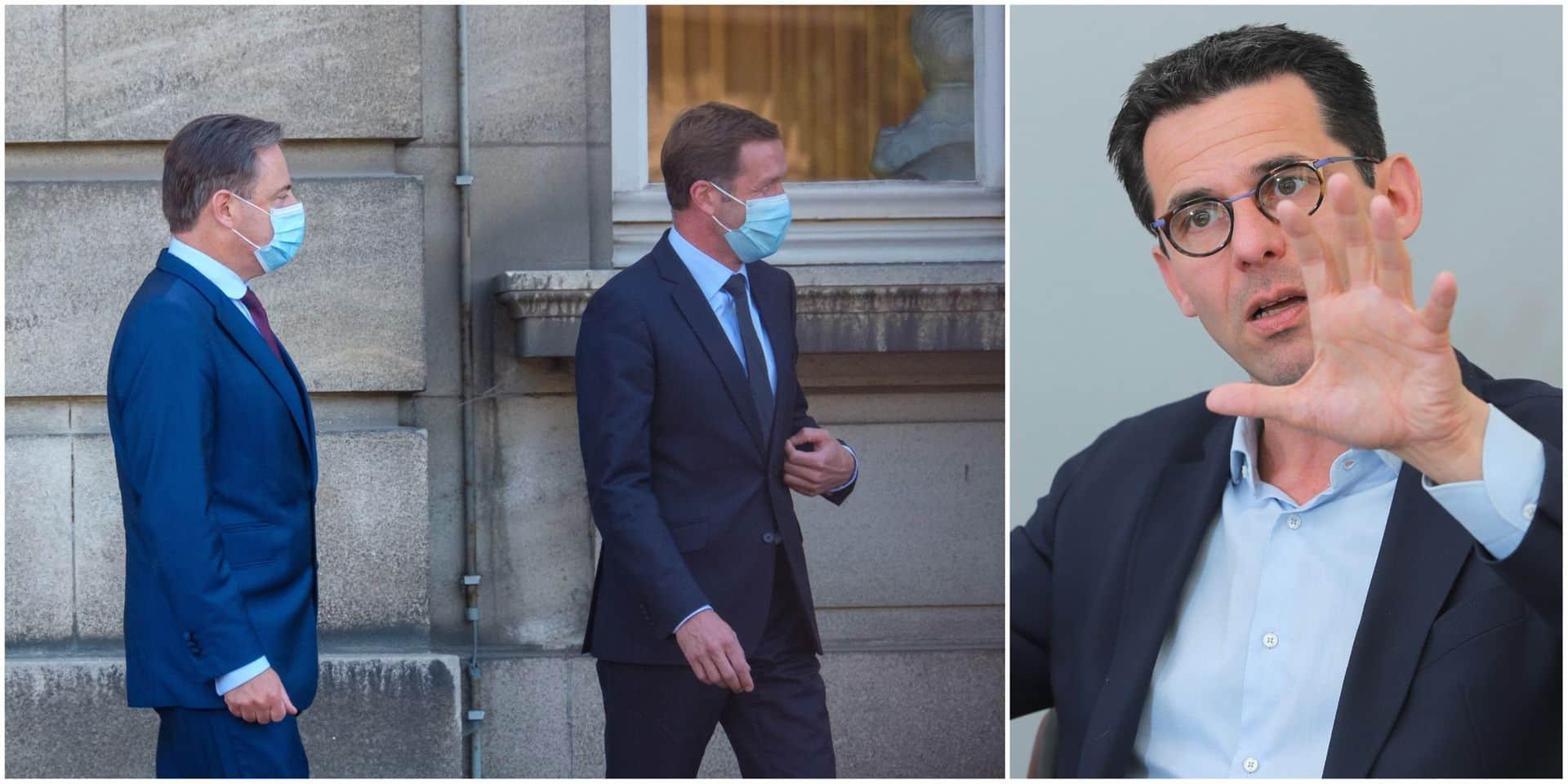 """""""On voit bien l'entonnoir dans lequel la N-VA veut nous emmener"""": Jean-Marc Nollet s'explique après sa rencontre avec le duo Magnette - De Wever"""