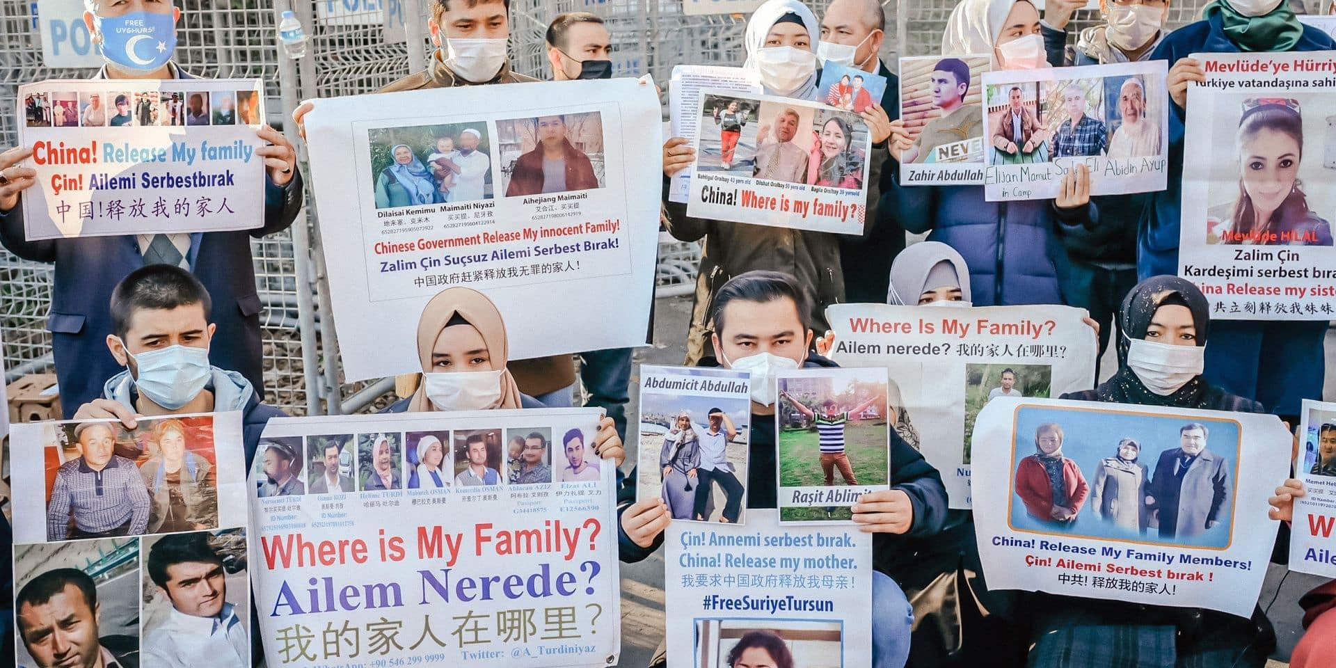 """""""La Belgique doit reconnaître le crime de génocide perpétré par la Chine contre les Ouïghours"""""""