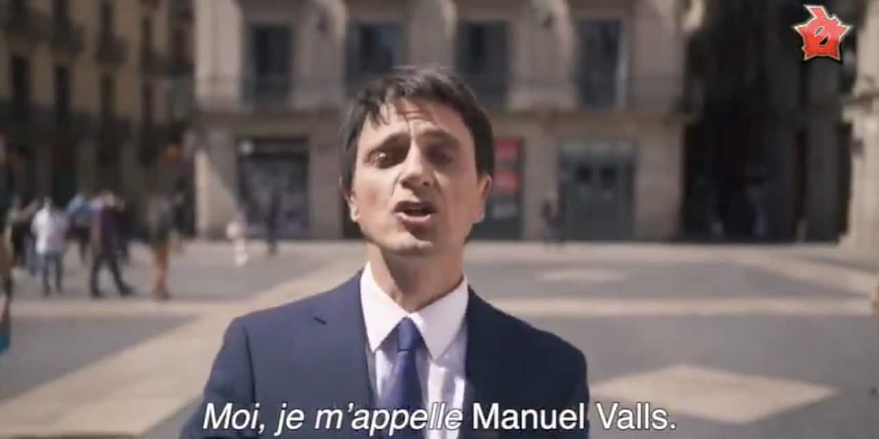 """Avec une reprise de """"Moi Lolita"""", une émission catalane se moque de Manuel Valls"""