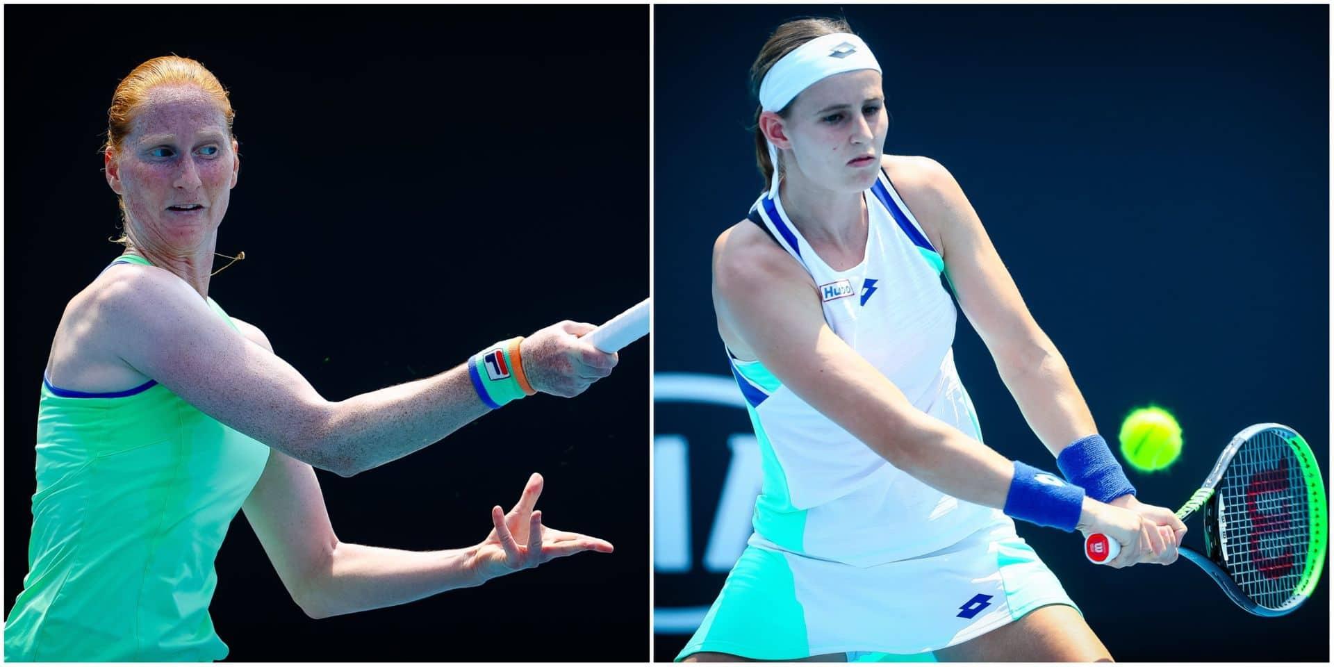 Open d'Australie: Minnen qualifiée, Van Uytvanck corrigée, Flipkens échoue dans sa remontada