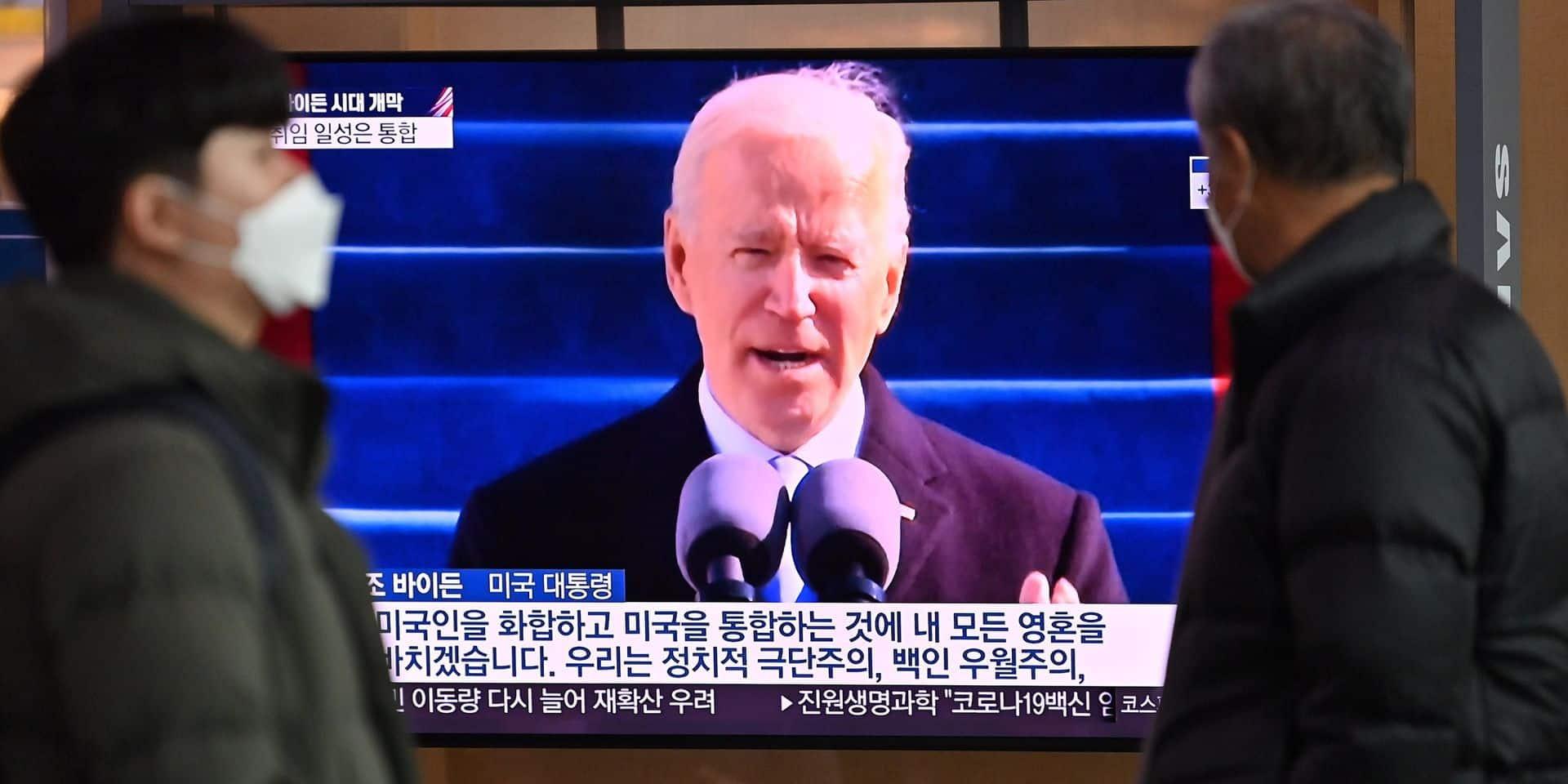 Investiture de Joe Biden: un invité était présent pour la première fois depuis 50 ans