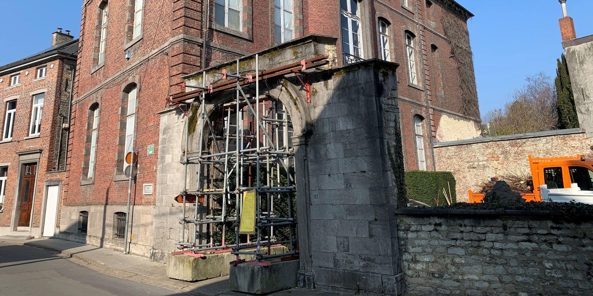 Permis demandé pour rénover le portail du musée communal de Nivelles