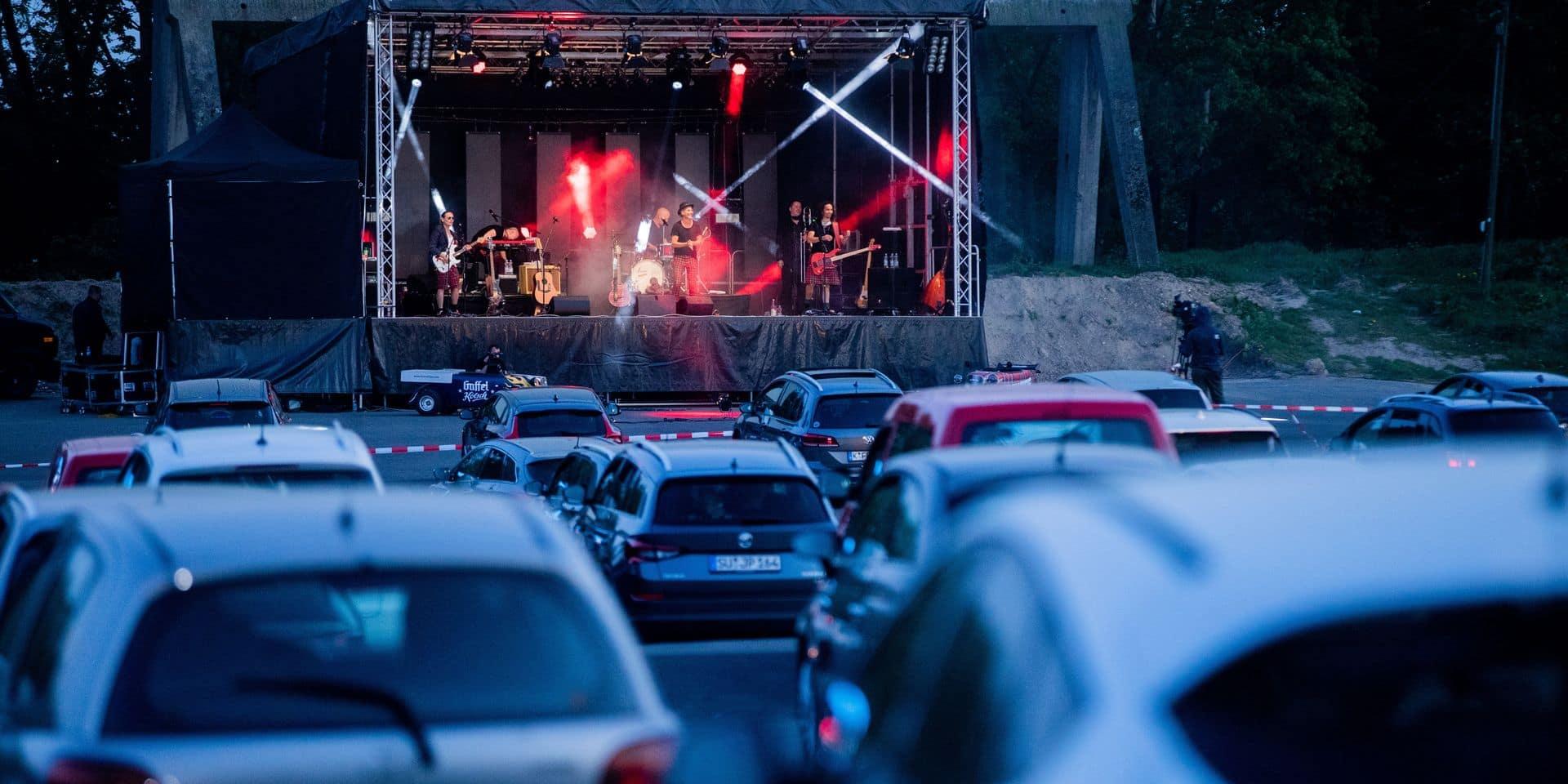 """Vers des festivals sous forme de """"drive-in"""" pour sauver l'été: """"Une expérience hors du commun"""""""
