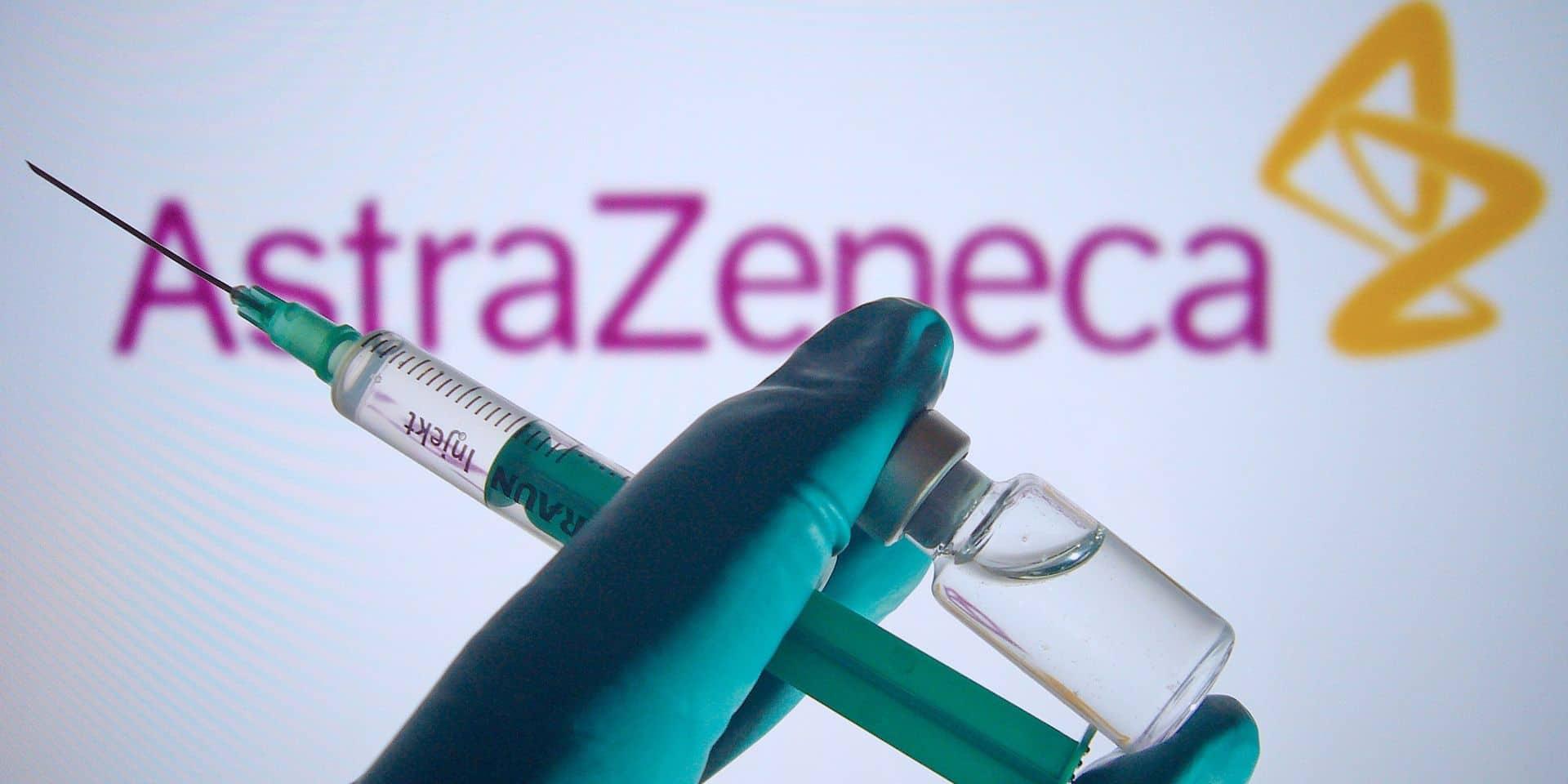 80.000 doses du vaccin d'AstraZeneca seront livrées en Belgique ce week-end