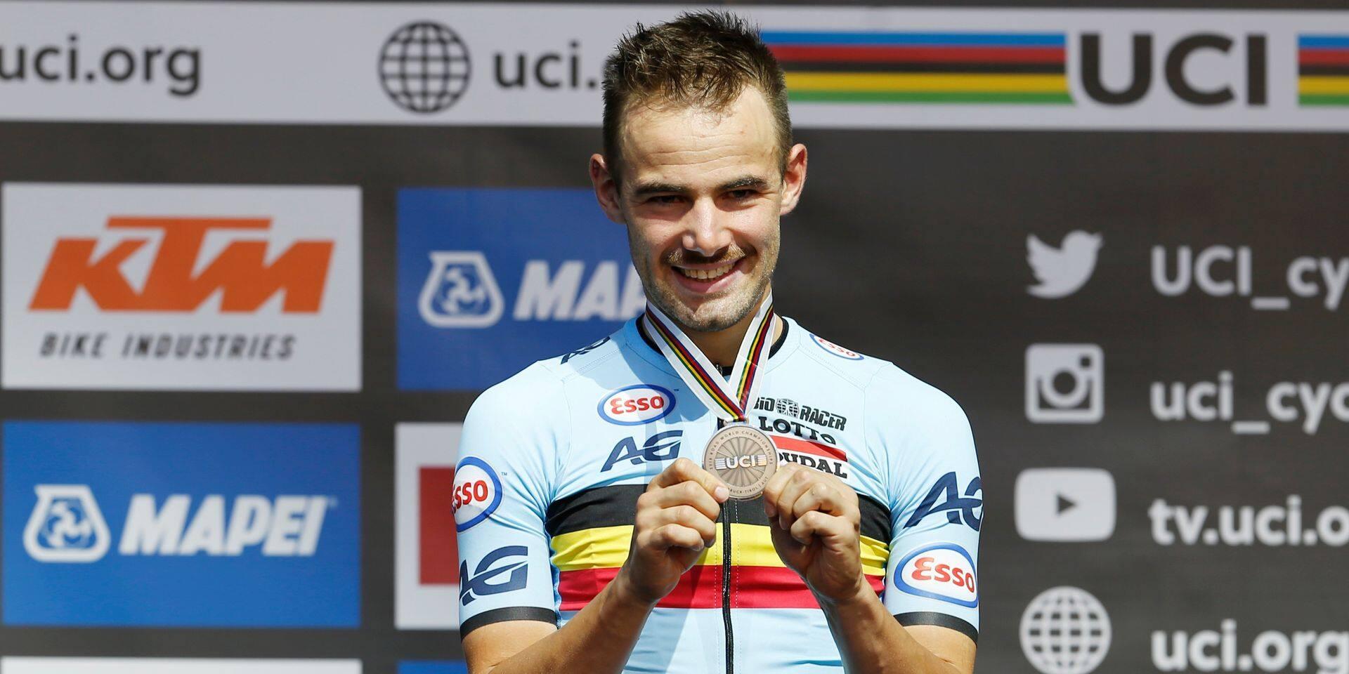 Vélo de Cristal: Victor Campenaerts, champion de Belgique et d'Europe de contre-la-montre, lauréat 2018