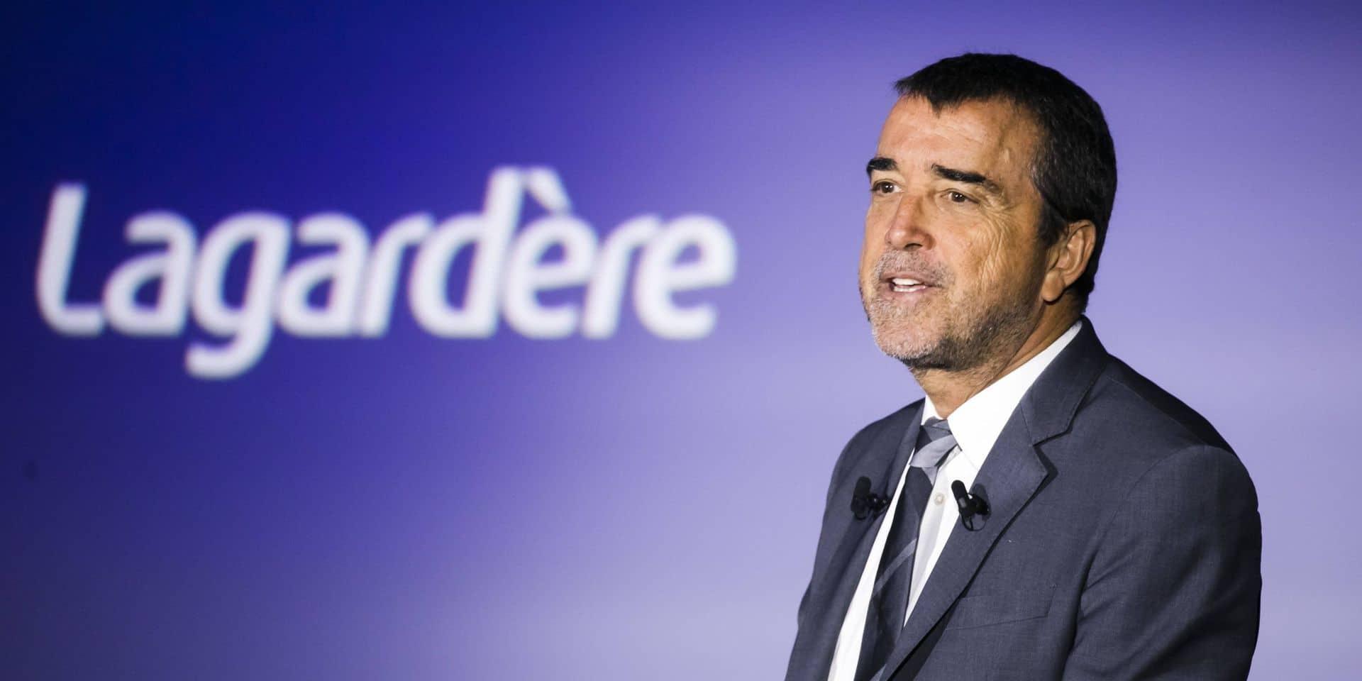 Arnaud Lagardère, gérant-commandité depuis le décès de son père Jean-Luc en 2003,