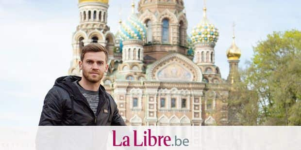 20150513 - SINT-PETERSBURG, RUSSIA: Belgian defender Nicolas Lombaerts of FC Zenit Saint Petersburg poses for the photographer during a photoshoot in Sint-Petersburg, Russia, Wednesday 13 May 2015. BELGA PHOTO MIKE KIREEV