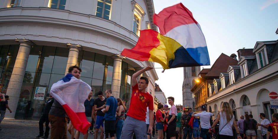 """Un sentiment anti-Français en Belgique ? """"Ce match nous permet en quelque sorte de prendre une revanche sur l'histoire"""" ..."""