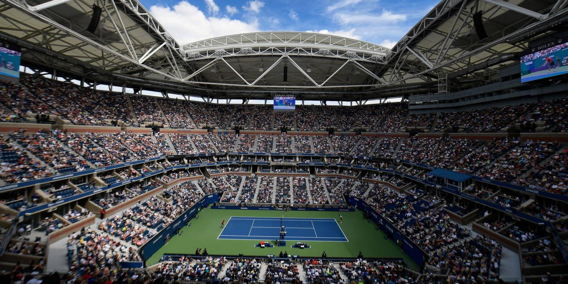 L'US Open à huis clos, un autre monde