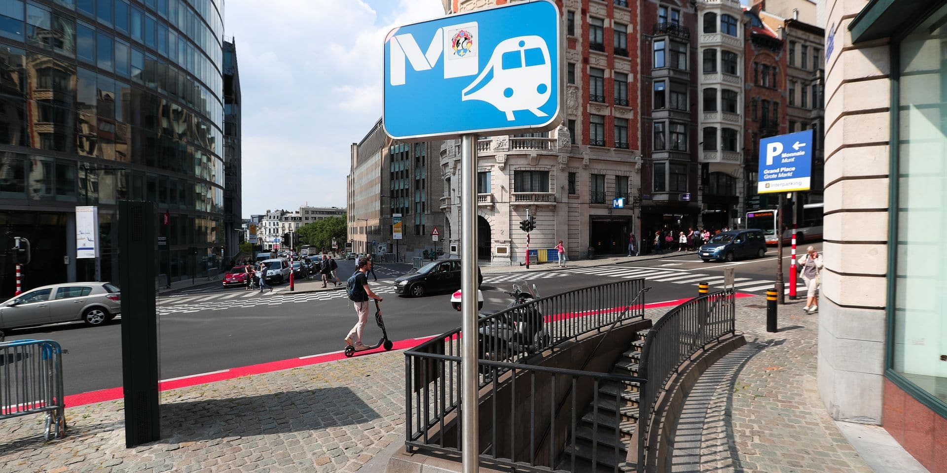 Parmi les mesures du gouvernement bruxellois: deux fois moins de navetteurs dans la capitale, Stib gratuite