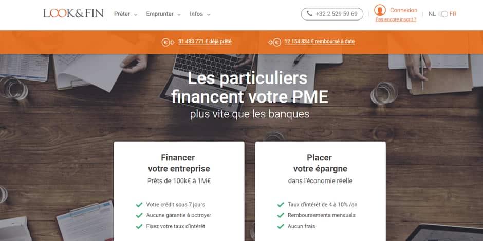 Look&Fin, cette plateforme belge qui innove dans le capital garanti - La Libre