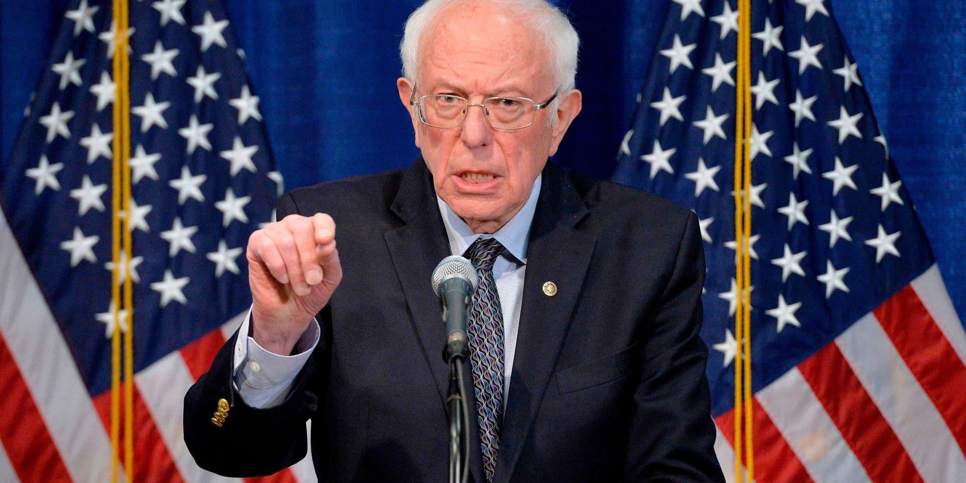 """Primaires démocrates: Sanders reste en lice et promet de """"tout faire"""" pour battre Trump"""