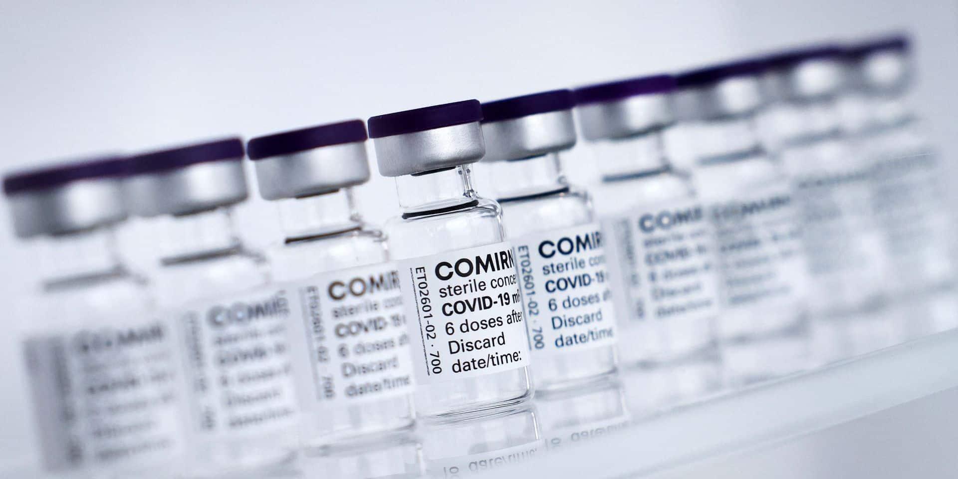 Pfizer et BioNTech demandent officiellement l'autorisation de leur vaccin pour les 12-15 ans dans l'UE