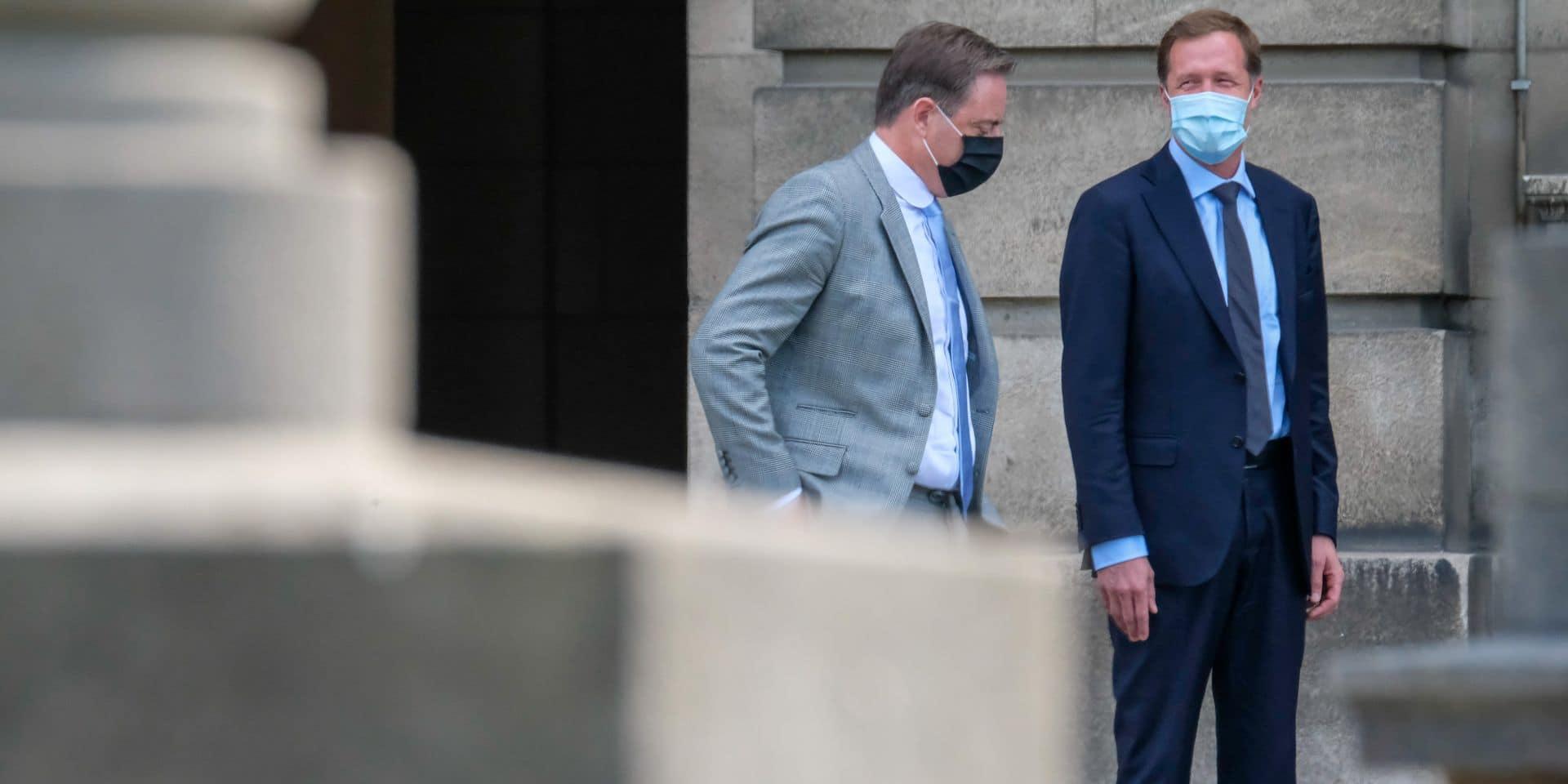 Formation fédérale: Paul Magnette et Bart De Wever ont une semaine pour convaincre