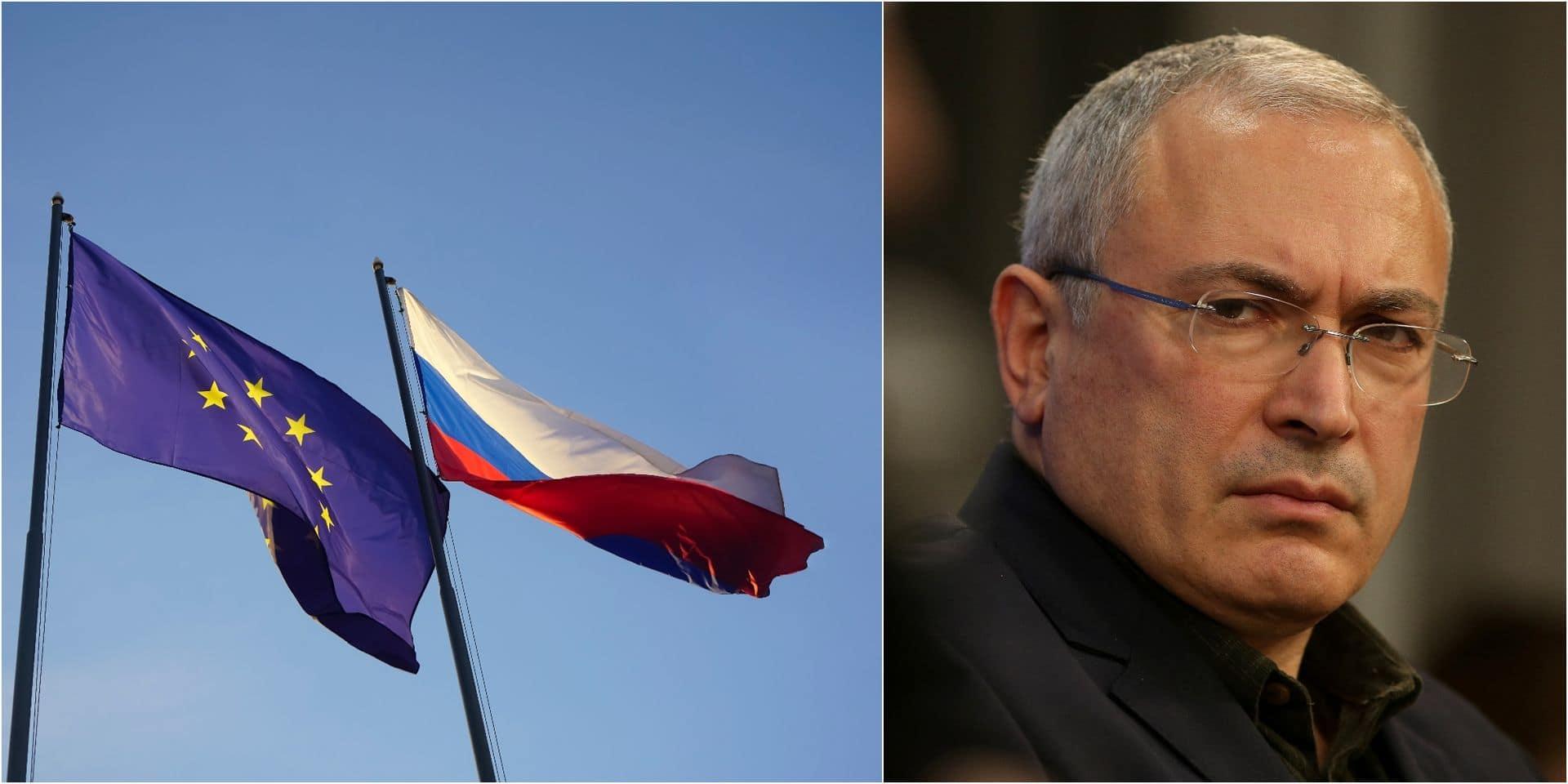 """L'Europe, victime de pratiques """"de guerre froide"""" du Kremlin"""