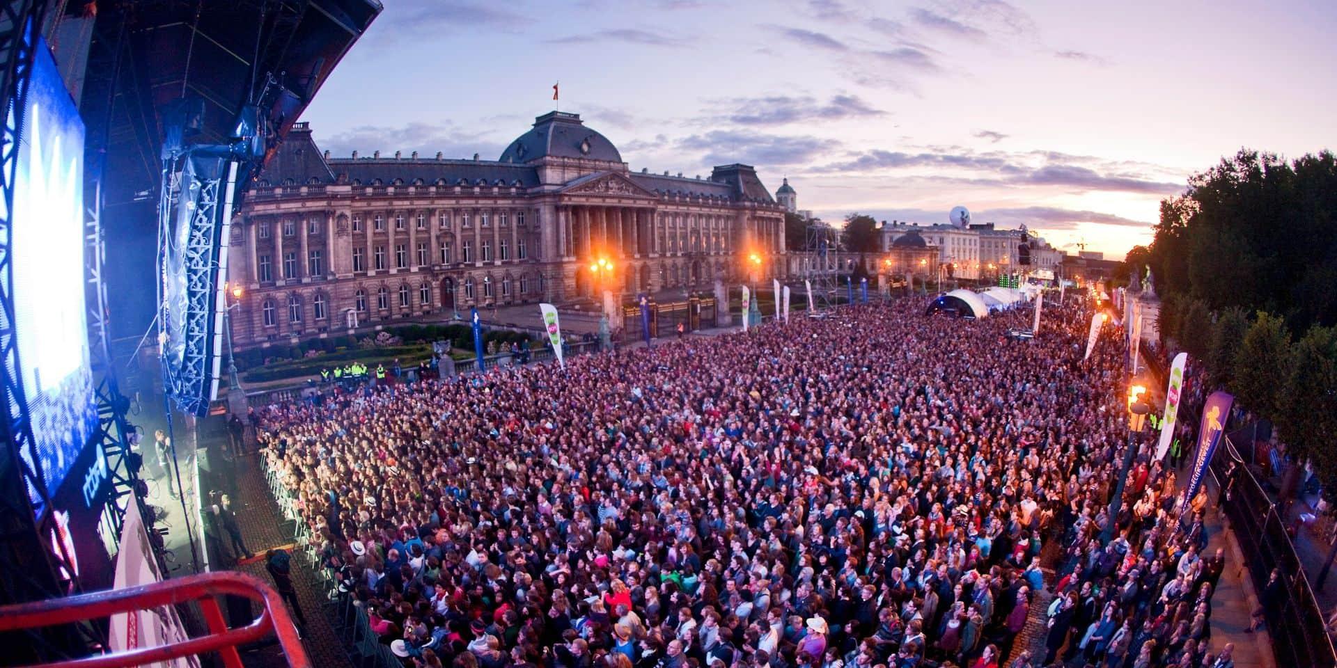 Brussels Summer Festival: 57.000 festivaliers sur 5 jours de concerts