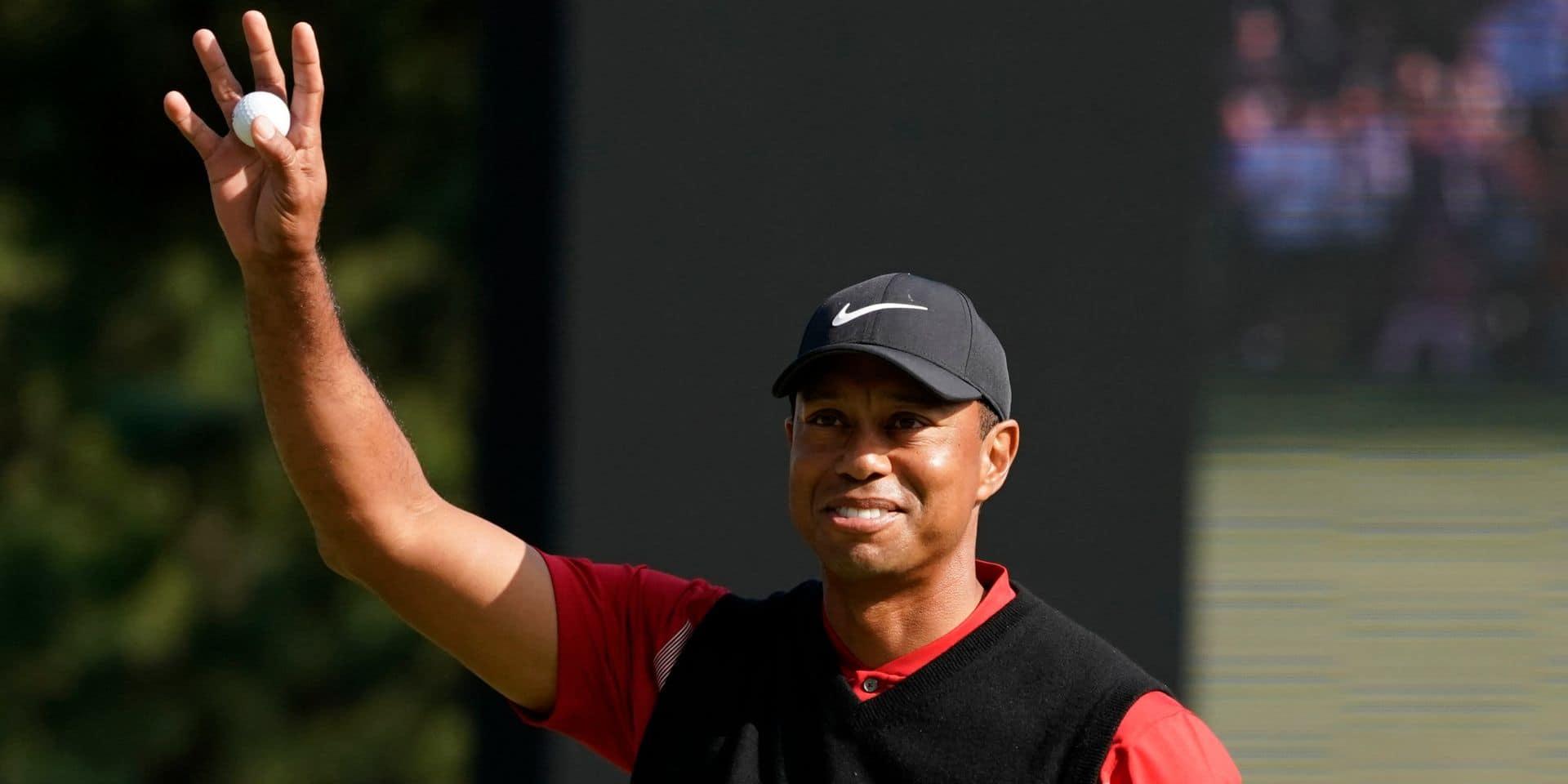 Nouveau record pour Tiger Woods !