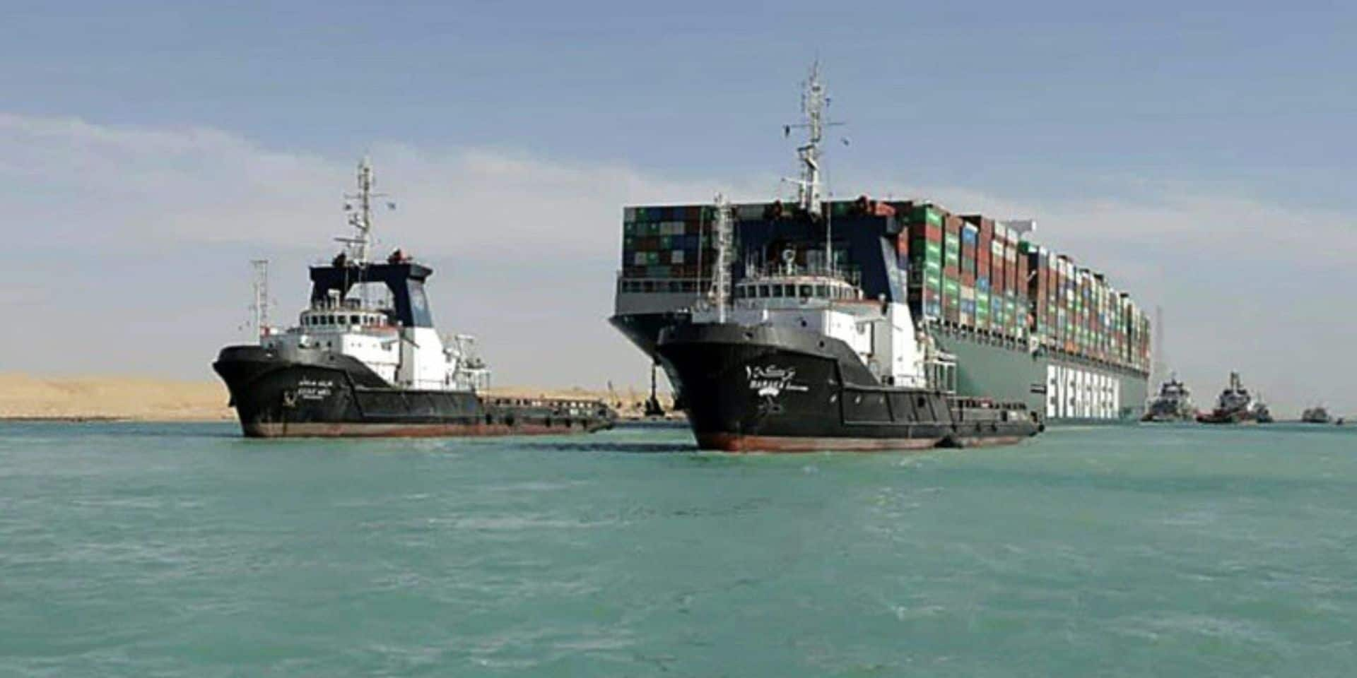 Canal de Suez: l'Egypte réduit ses exigences d'indemnisation pour l'Ever Given