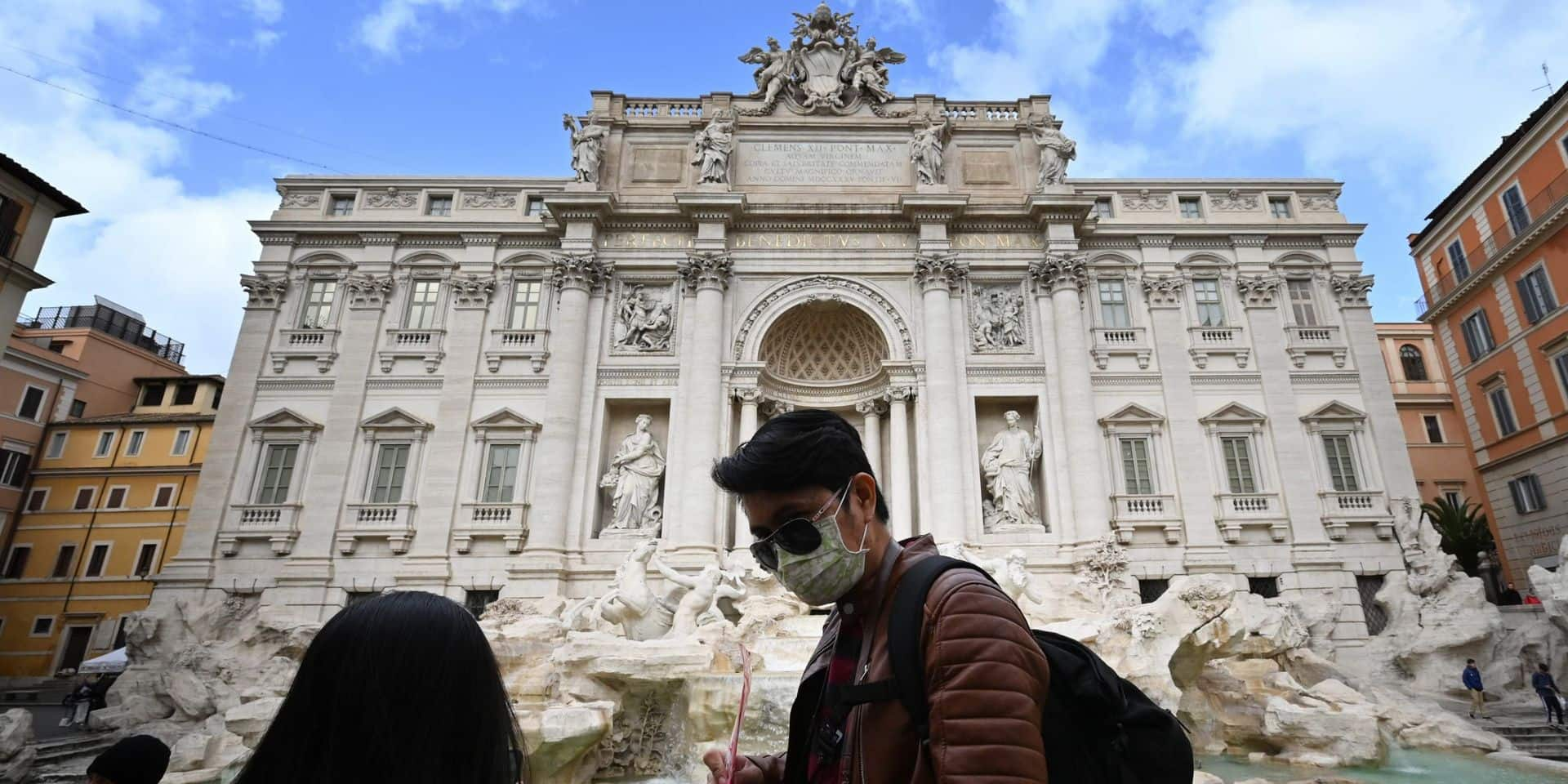 Voyages déconseillés: les Affaires étrangères émettent un nouvel avis pour les départs des Belges en Italie