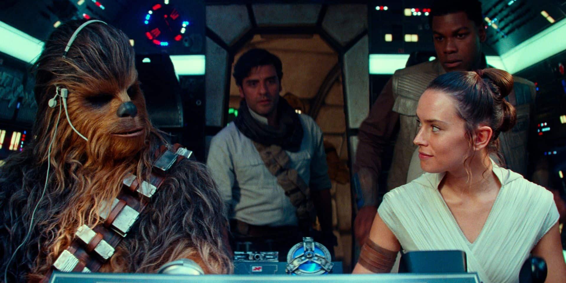 """Star Wars"" garde la tête du box-office nord-américain"