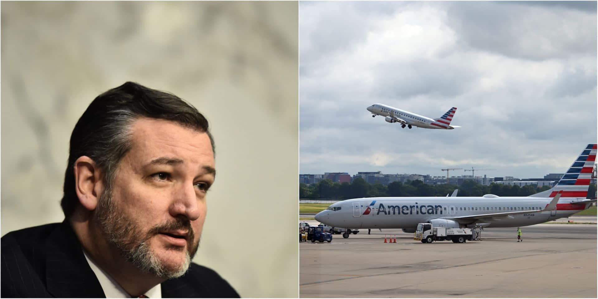 Un proche de Trump sermonné par American Airlines après qu'il a posté une photo