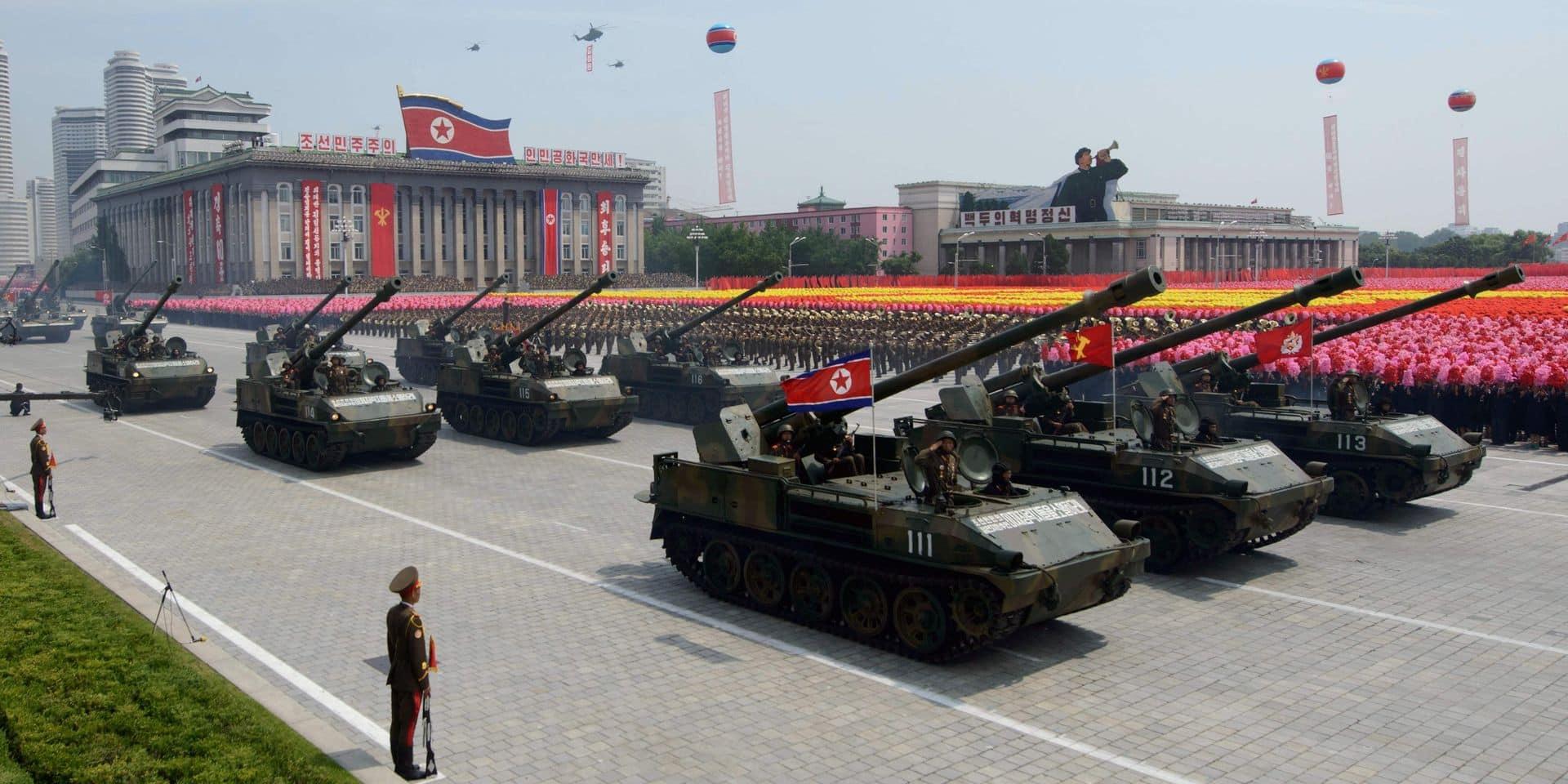 Malgré la menace du virus, un défilé militaire géant attendu à Pyongyang