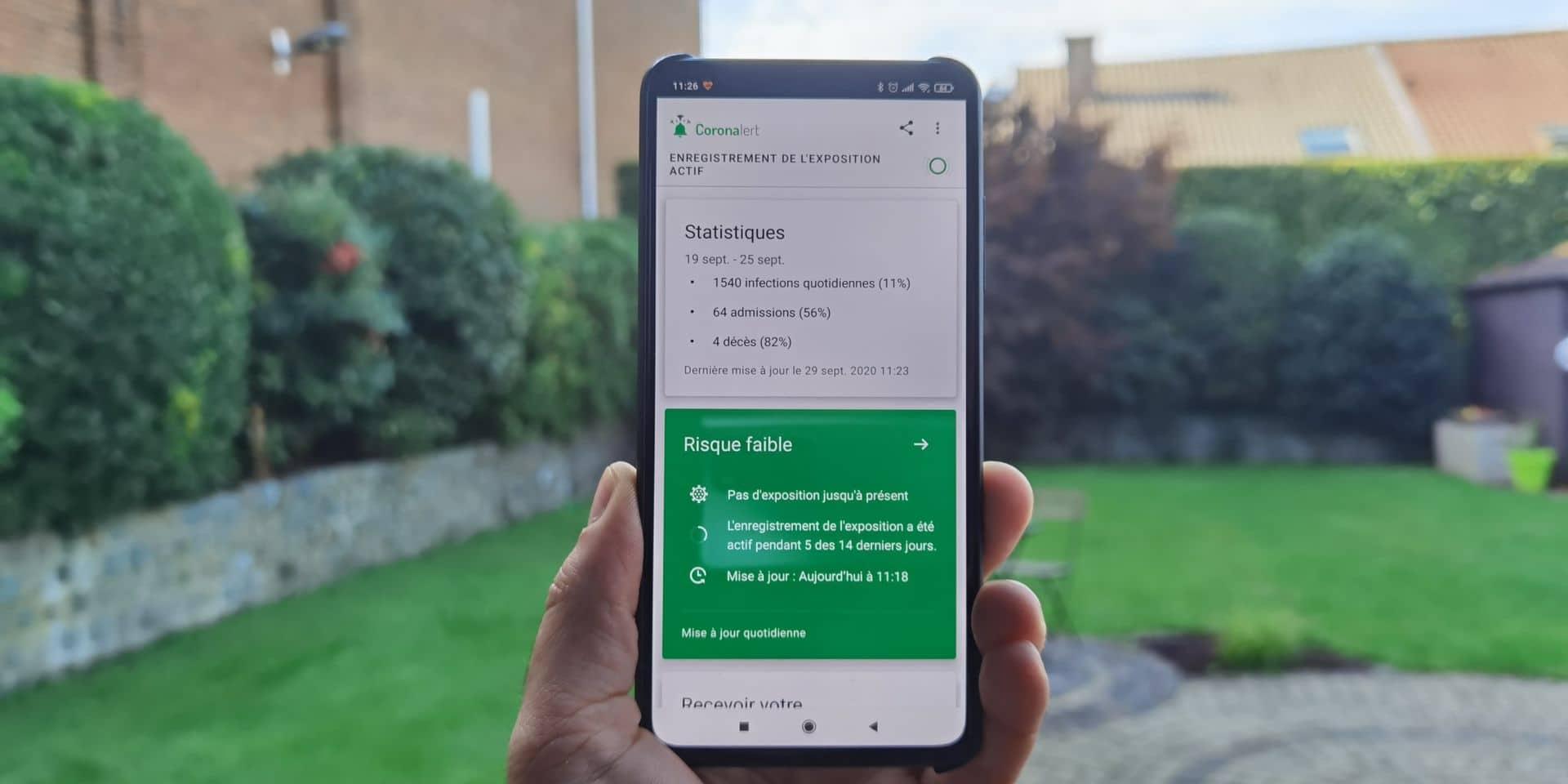 L'app belge de tracing Coronalert dispo dès aujourd'hui sur nos smartphones : on répond aux 3 questions que vous vous posez