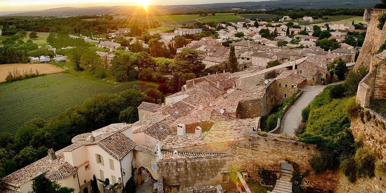 Trentieme edition des fetes nocturnes au chateau de Grignan en Drome Provençale