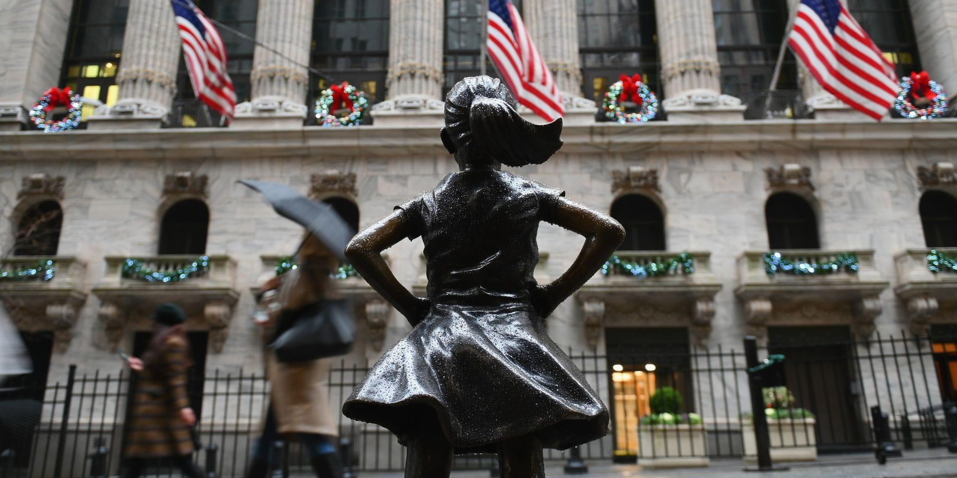 Wall Street en hausse à l'ouverture, poussée par les résultats d'un géant de la Banque
