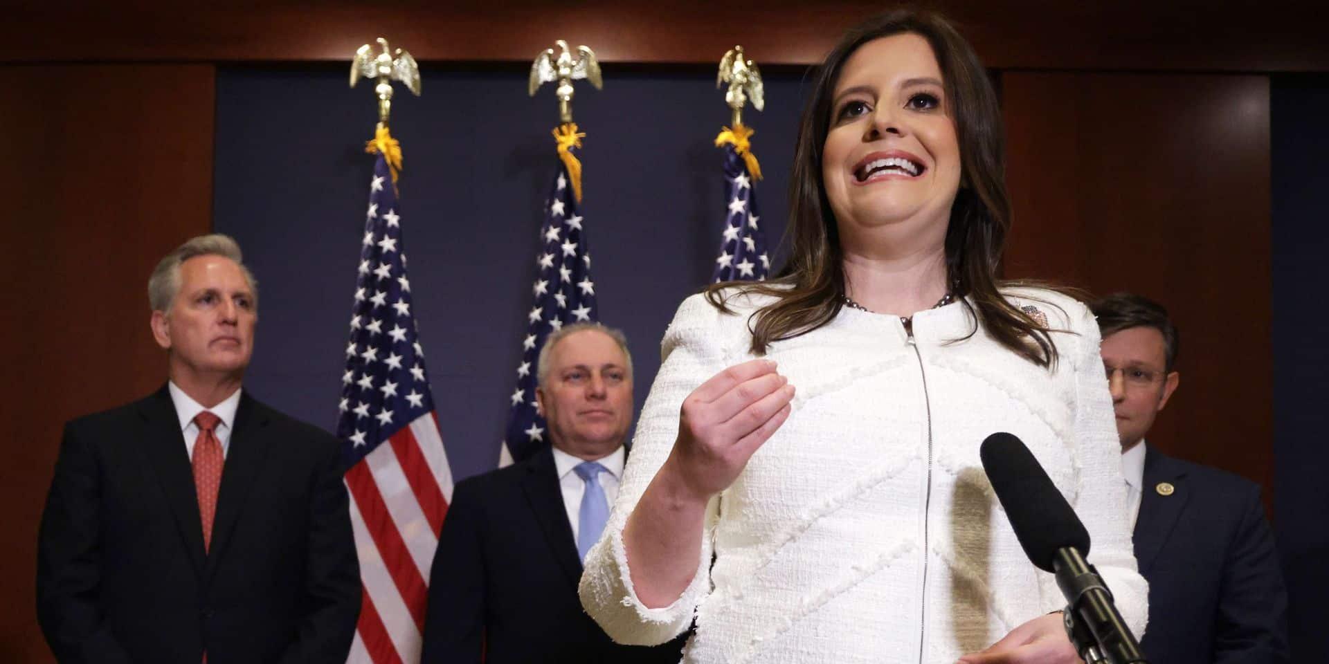 Une jeune pro-Trump entre dans la hiérarchie républicaine au Congrès américain