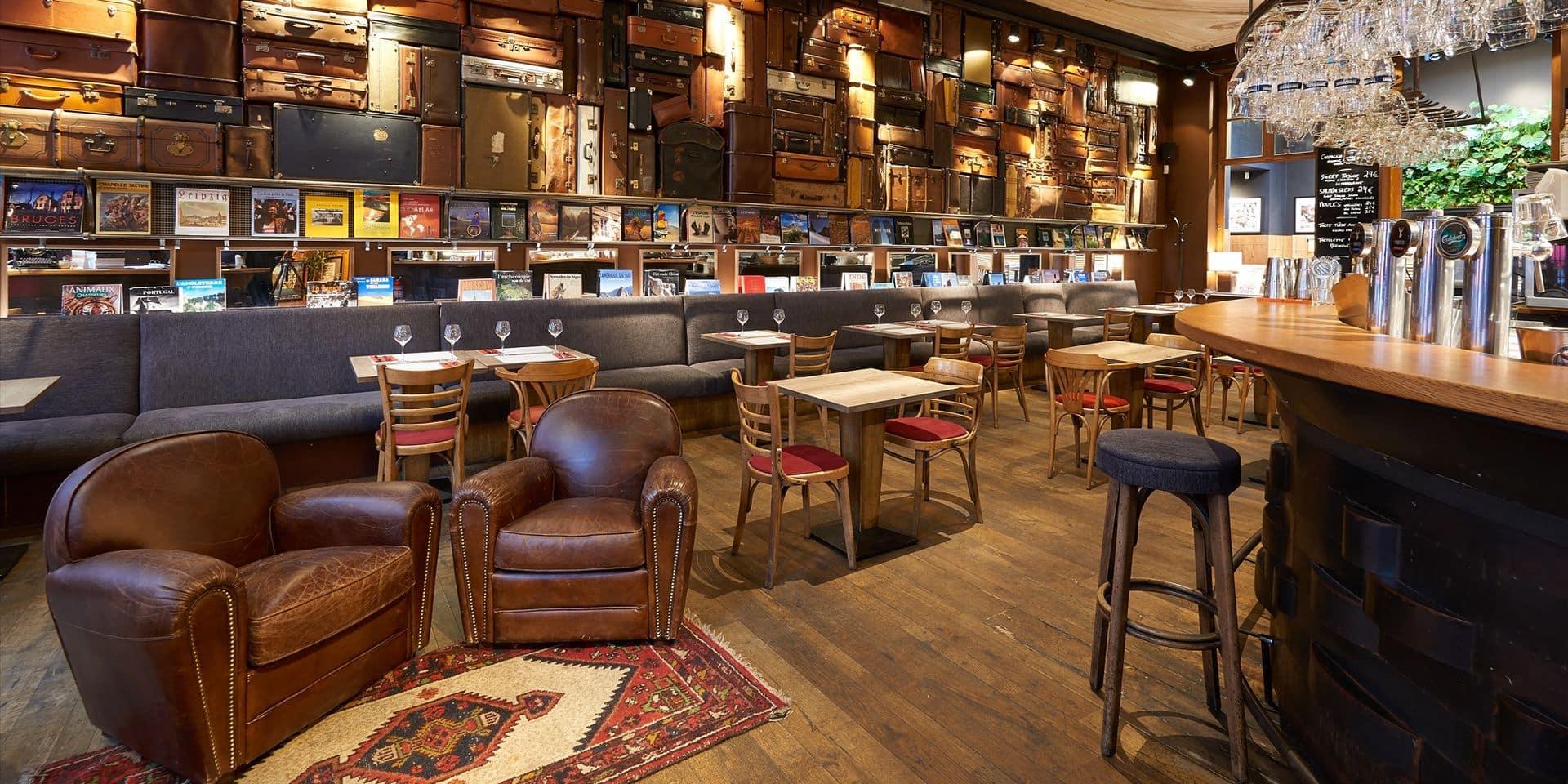 Le Cercle des voyageurs, restaurant emblématique à Bruxelles, fait faillite