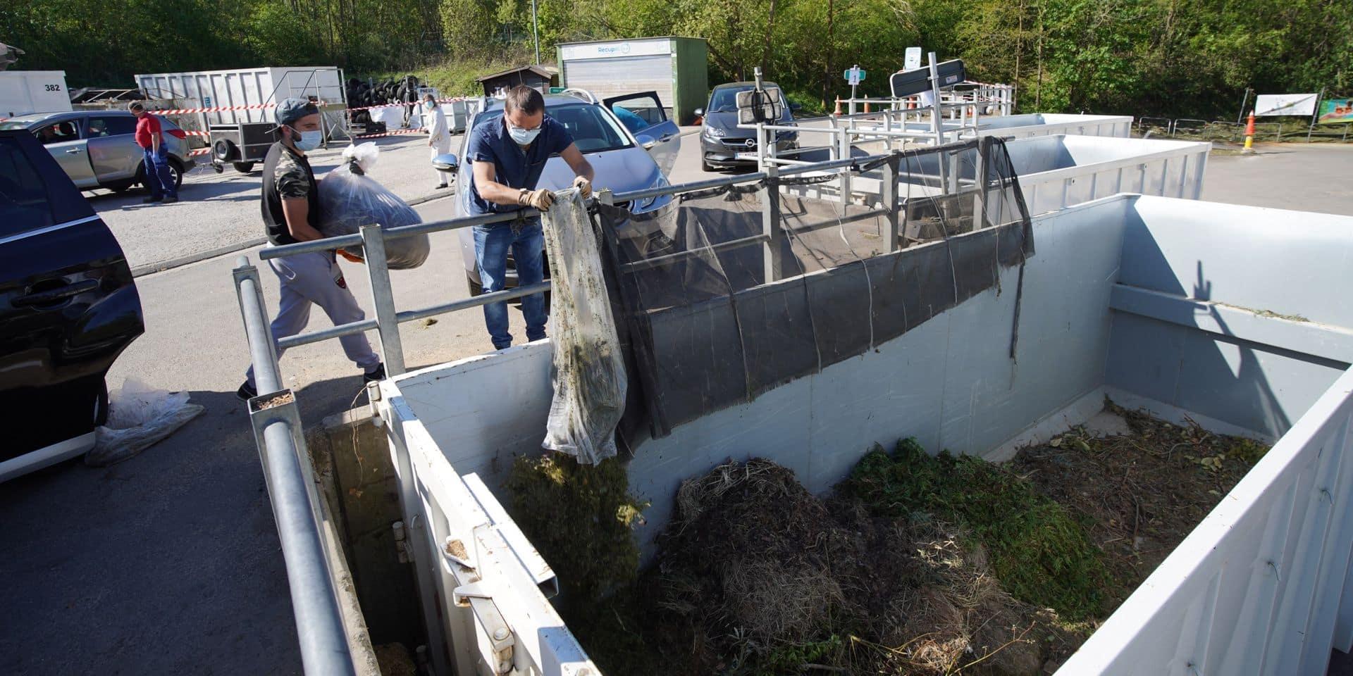 Nouvelle phase le 18 mai dans les recyparcs du Brabant wallon