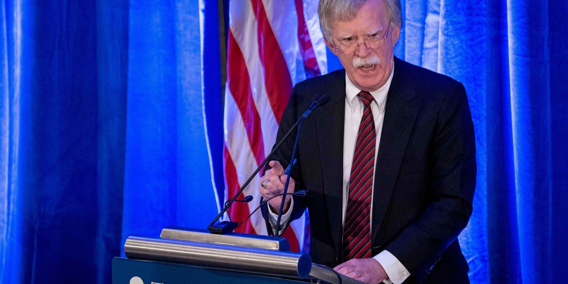 Que faut-il voir derrière les menaces de John Bolton, conseiller de Trump à la Sécurité nationale?