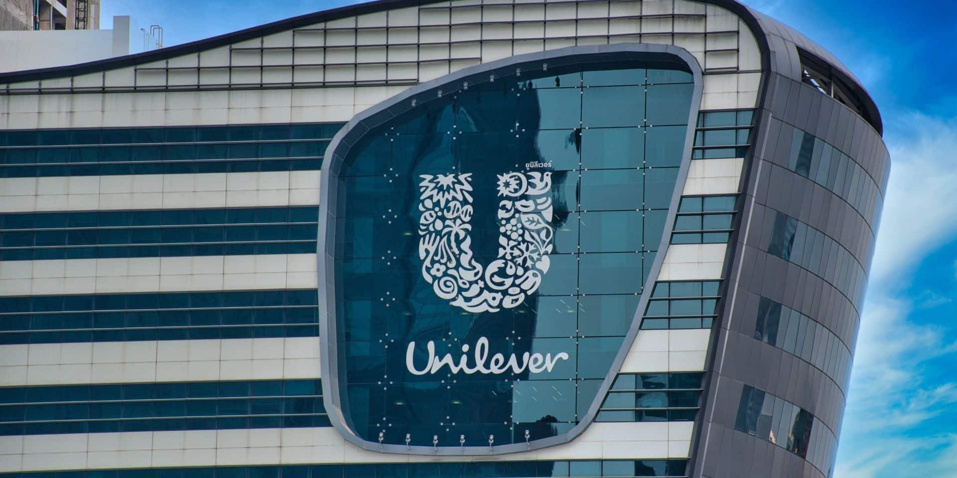 Unilever écope d'une amende de 50 millions d'euros