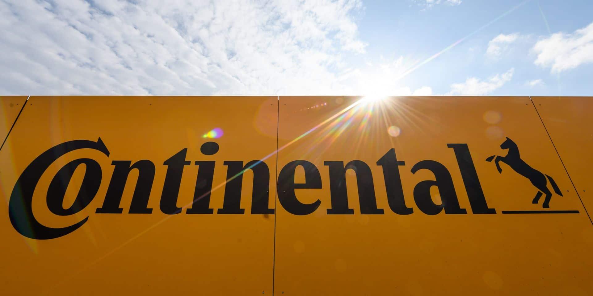140 emplois menacés chez Continental à Malines