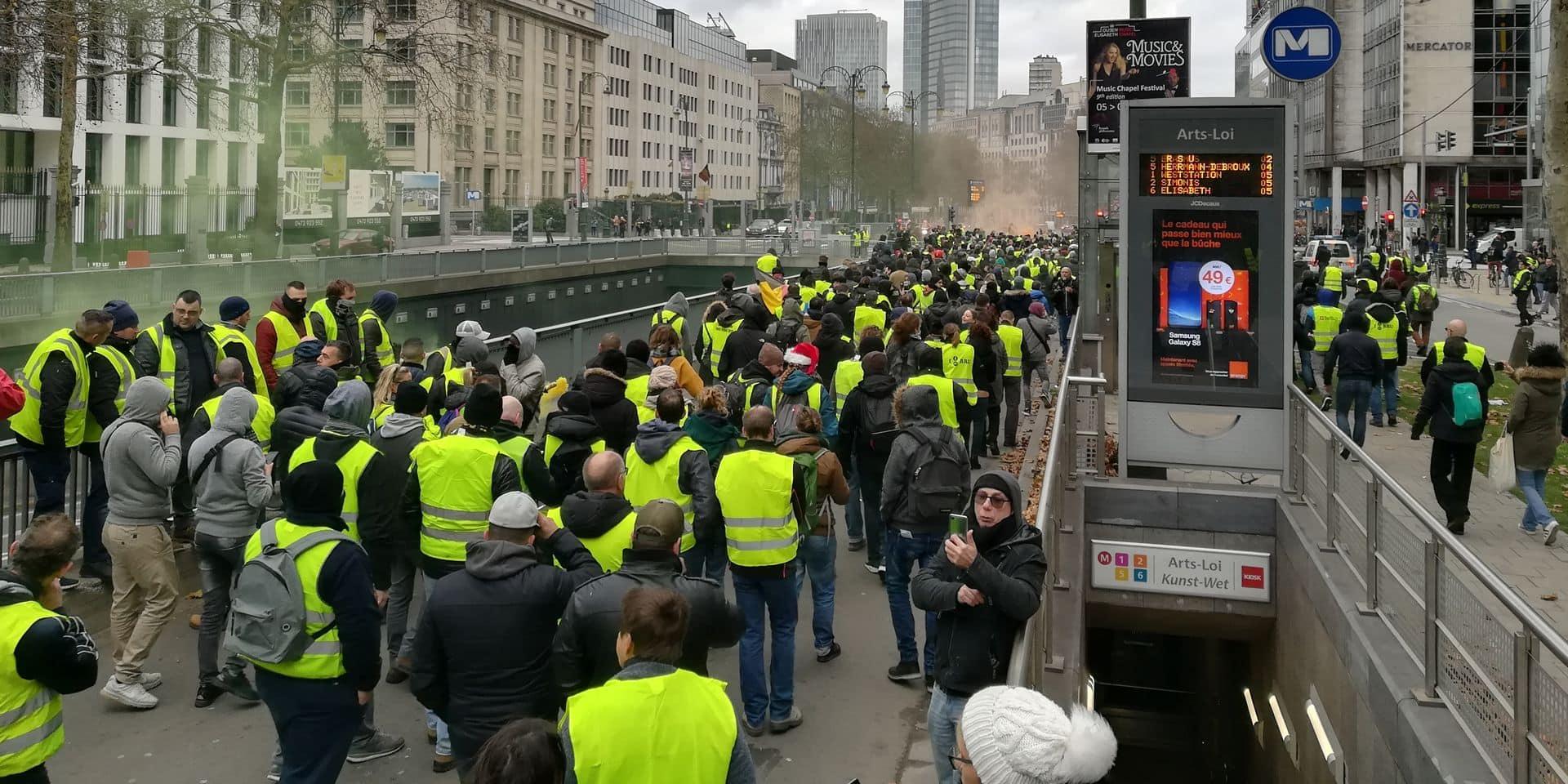 Gilets jaunes / Une nouvelle manifestation prévue samedi à Bruxelles